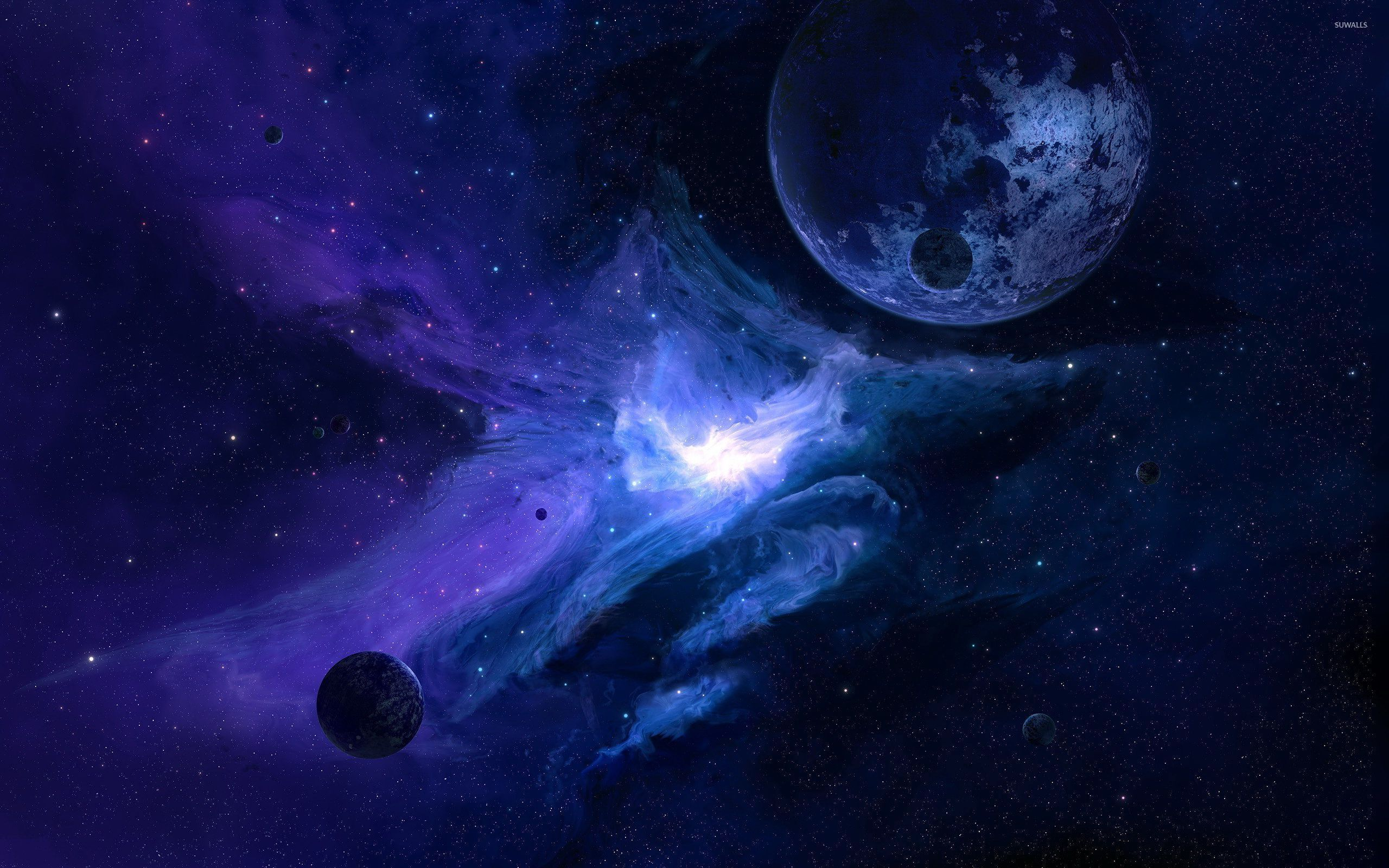Blue Galaxy Wallpapers Top Free Blue Galaxy Backgrounds Wallpaperaccess