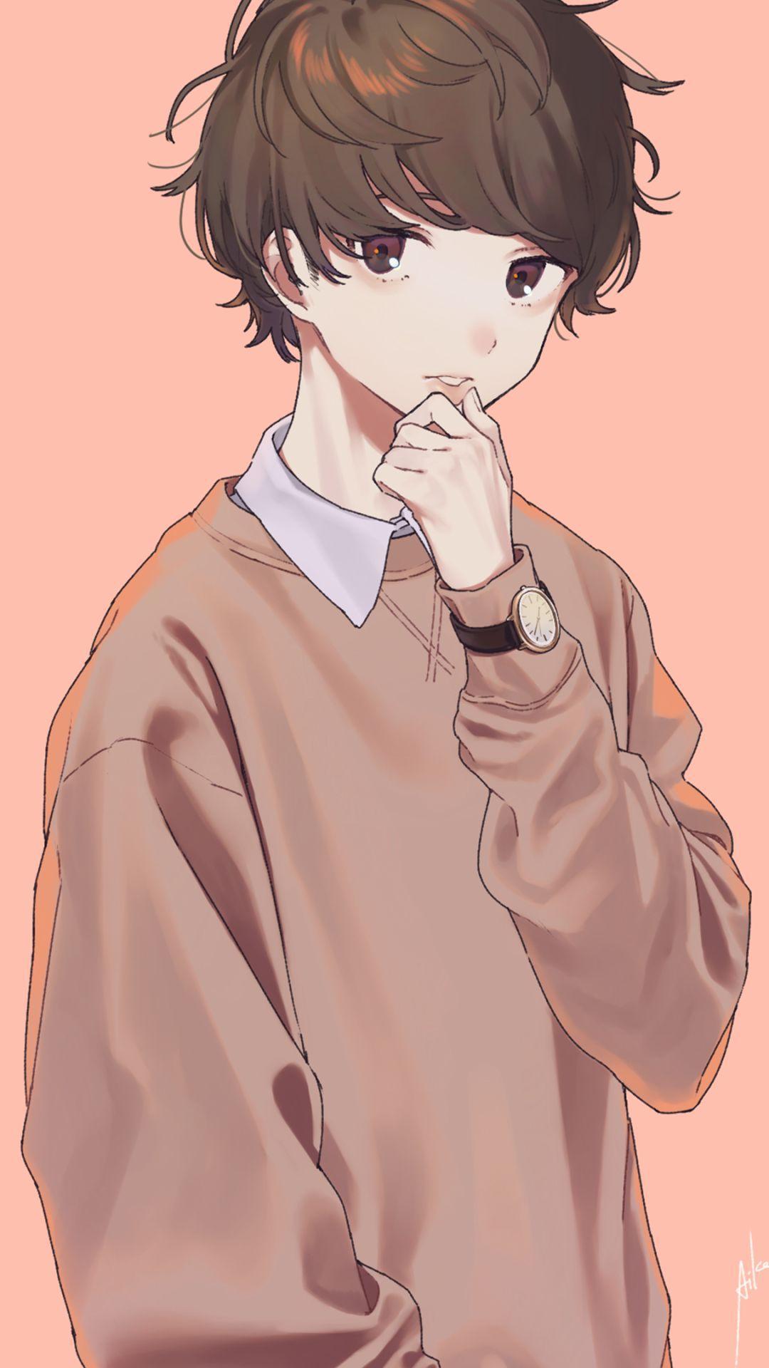 1080x1920 Hình nền tuyệt vời Anime Boy.  trang mywallpaper.  Ilustrasi karakter, Ilustrasi, Gambar manga