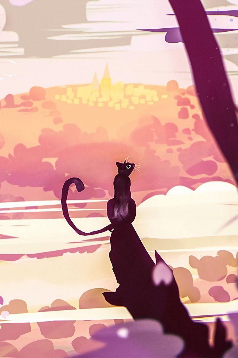 Cat Art iPhone Wallpapers - Top Free ...