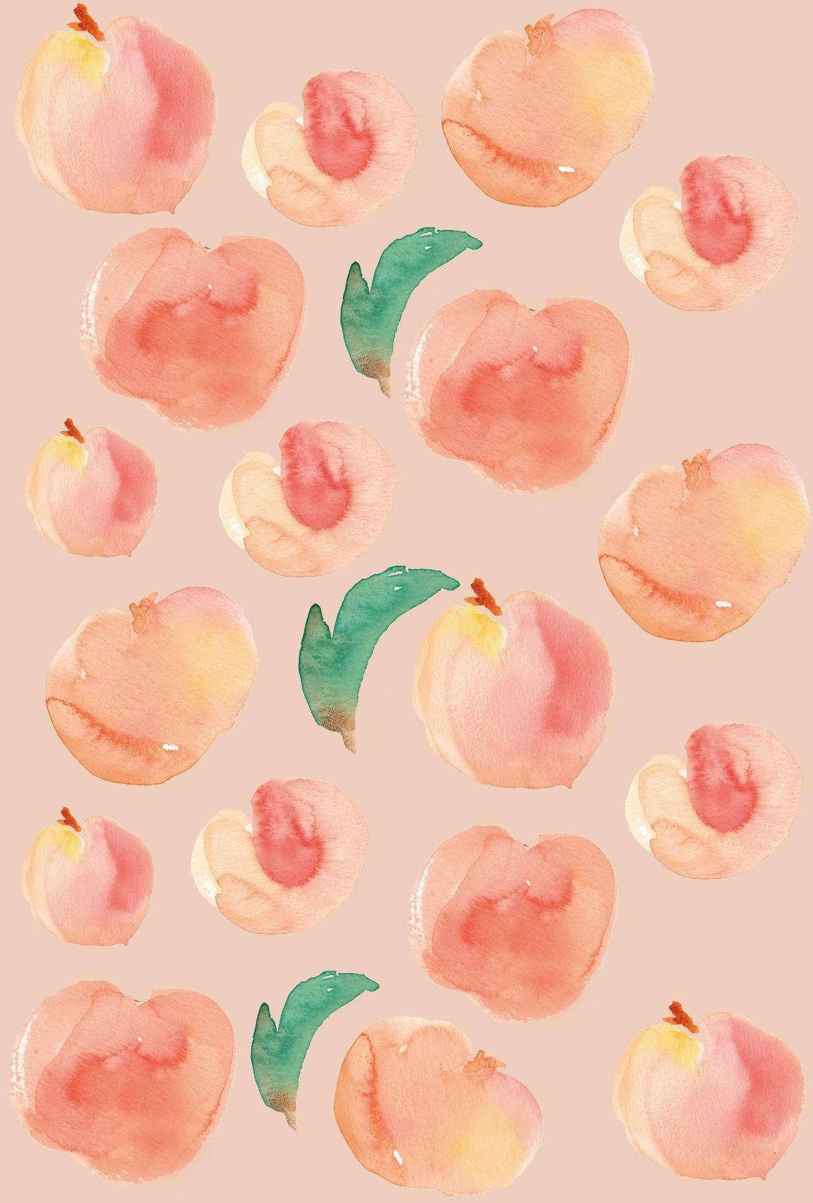 Kawaii Peach Wallpapers Top Free Kawaii Peach Backgrounds Wallpaperaccess