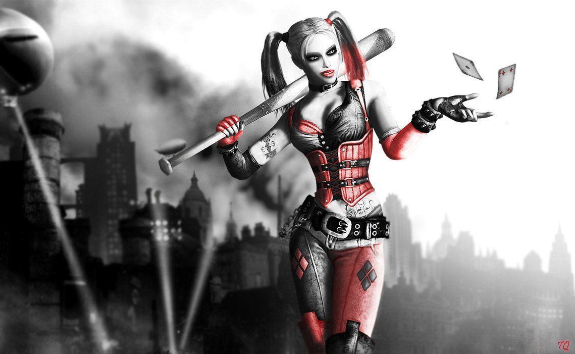 Harley Quinn Arkham Wallpapers Top Free Harley Quinn Arkham Backgrounds Wallpaperaccess