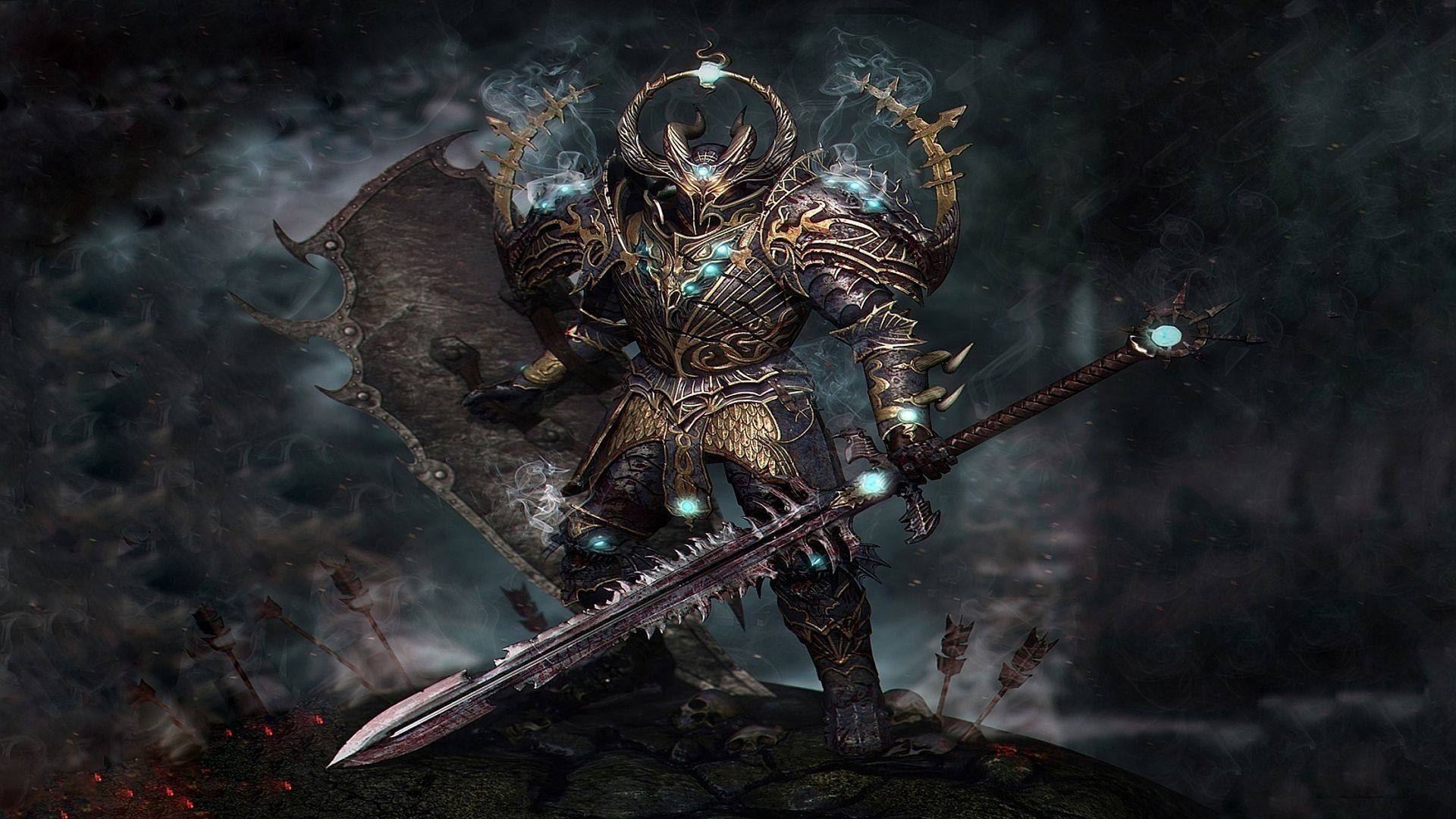 Cool warrior wallpapers top free cool warrior backgrounds wallpaperaccess - Chaos wallpaper ...