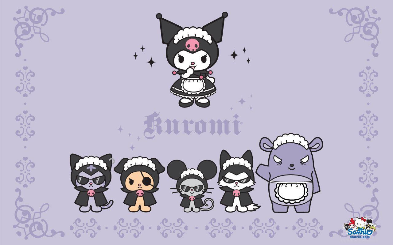 Kuromi Desktop Wallpapers Top Free Kuromi Desktop Backgrounds Wallpaperaccess