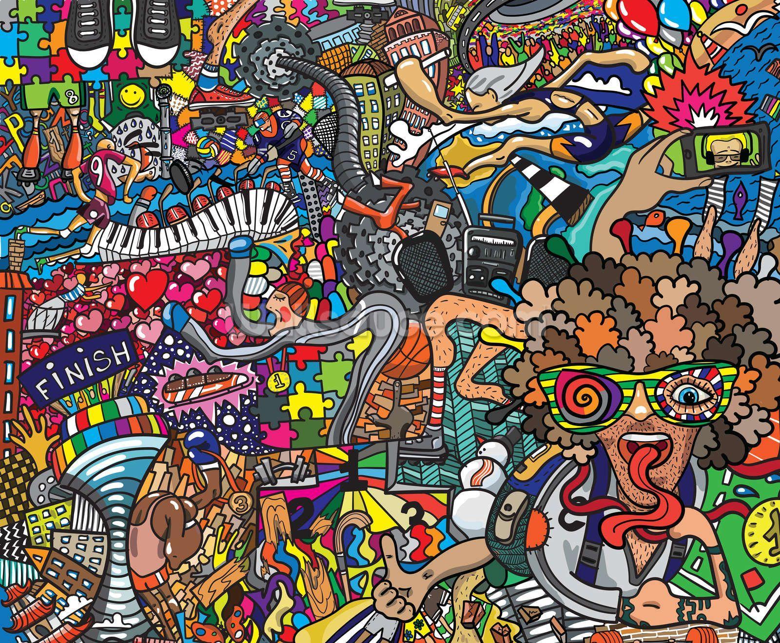 Cartoon Graffiti Wallpapers