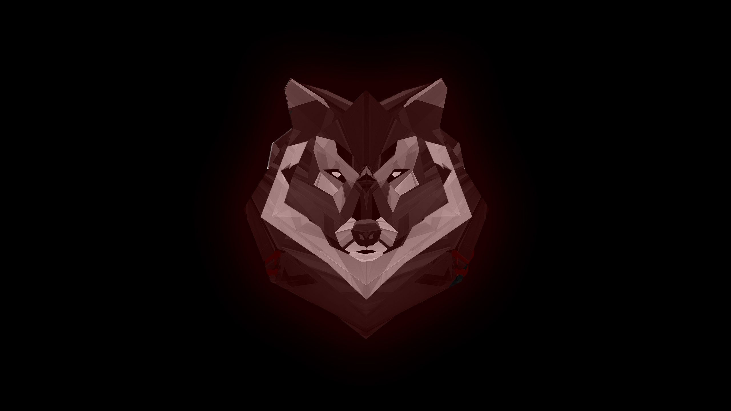 Hình nền con sói đỏ 2560x1440