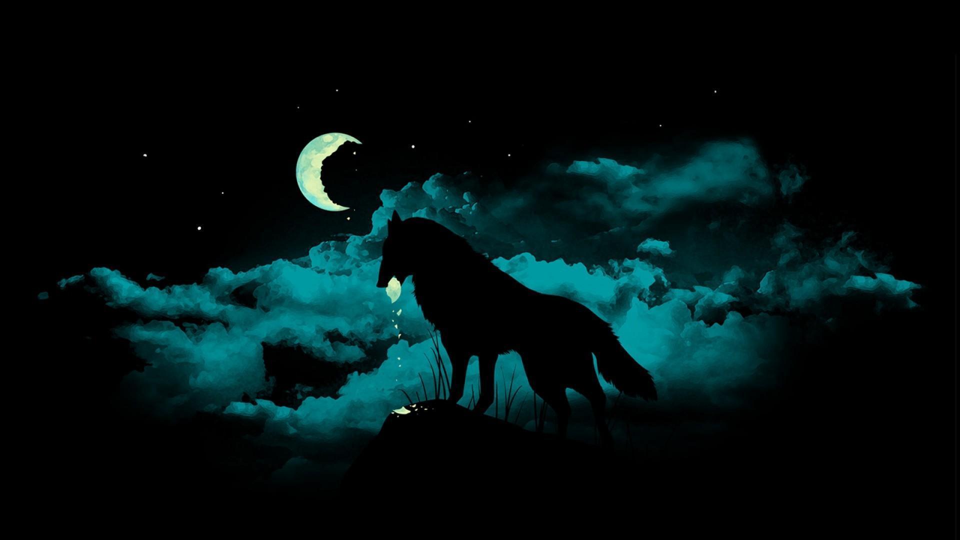 1920x1080 Lone Wolf hình nền