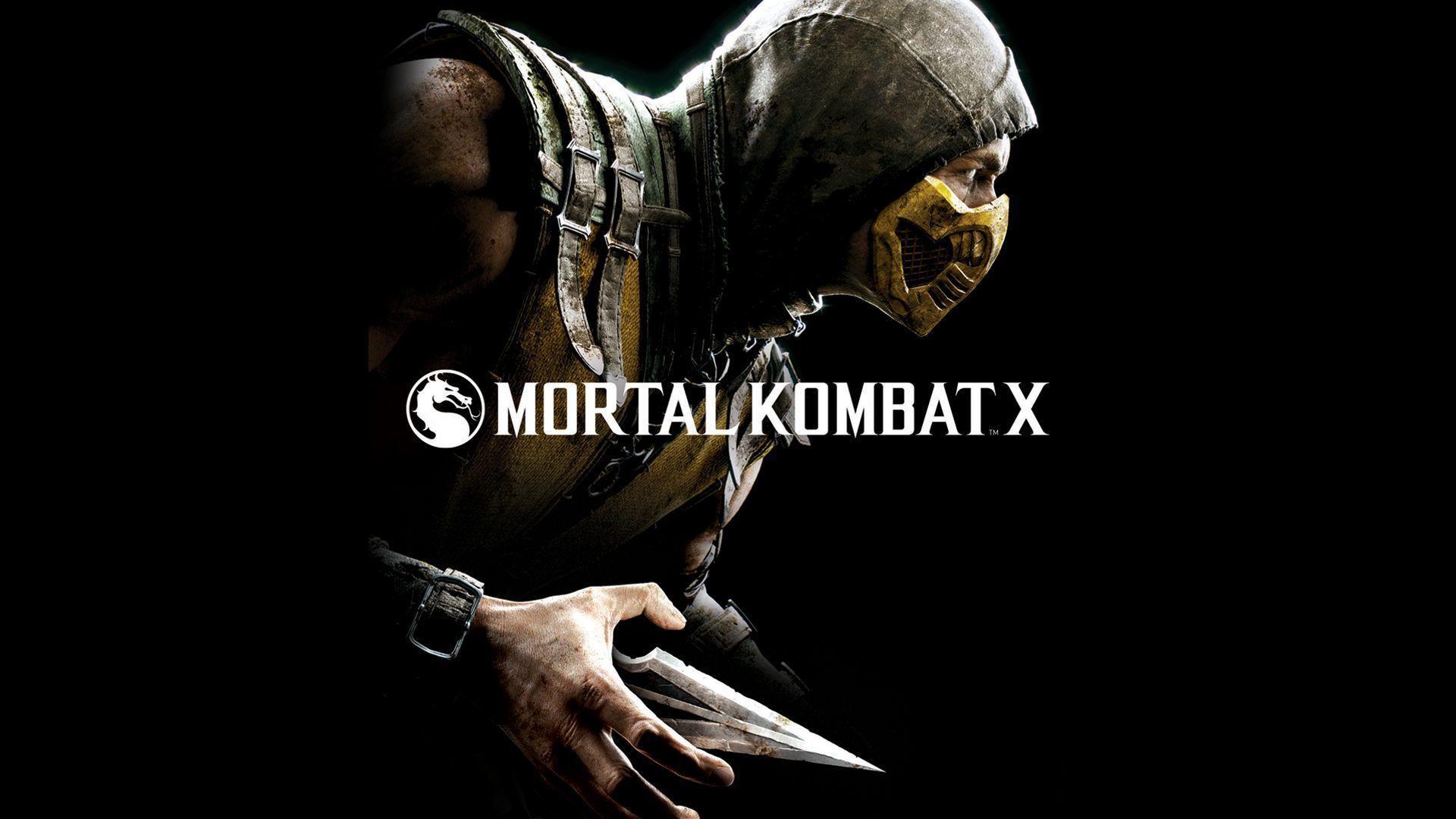 Mortal Kombat X Scorpion Wallpapers Top Free Mortal Kombat X