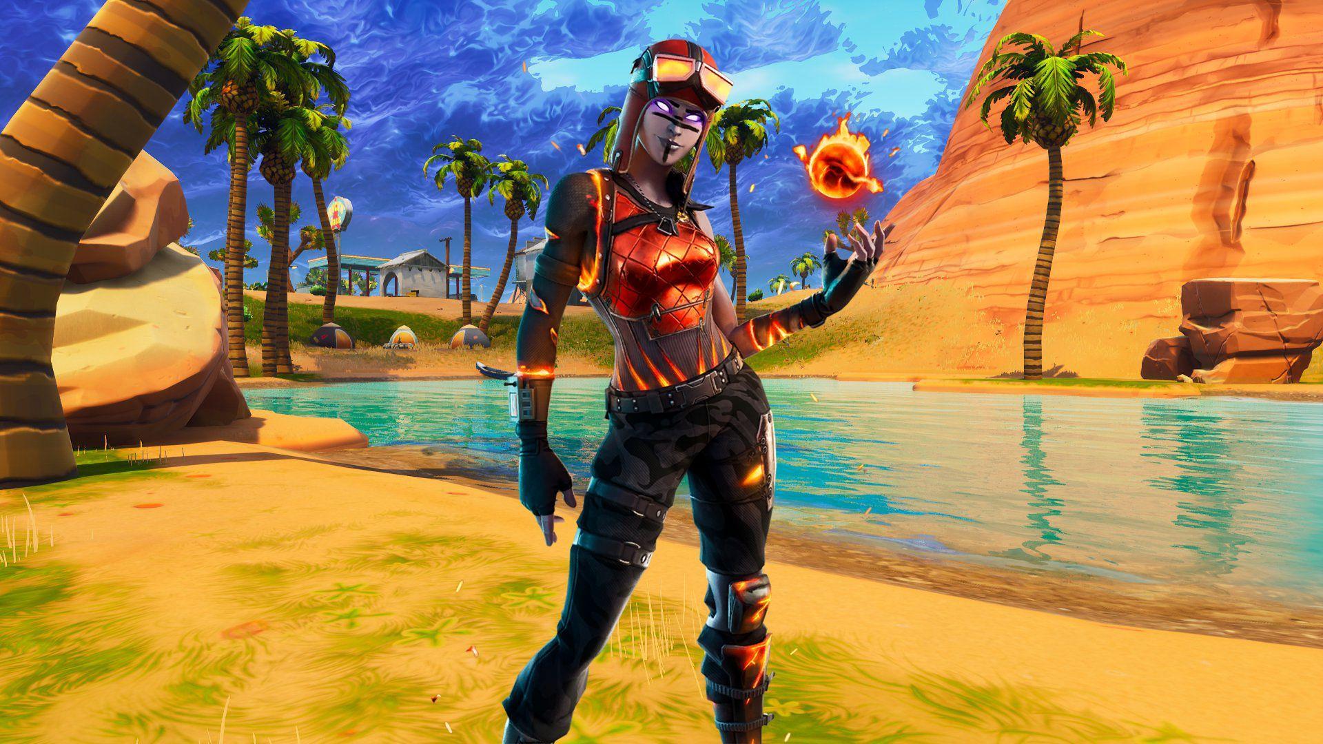 1920x1080 Renegade Raider đã trở lại!  Tất cả thông tin chi tiết về Blaze Skin + Blaze Fortnite Wallpaper - Mega Themes