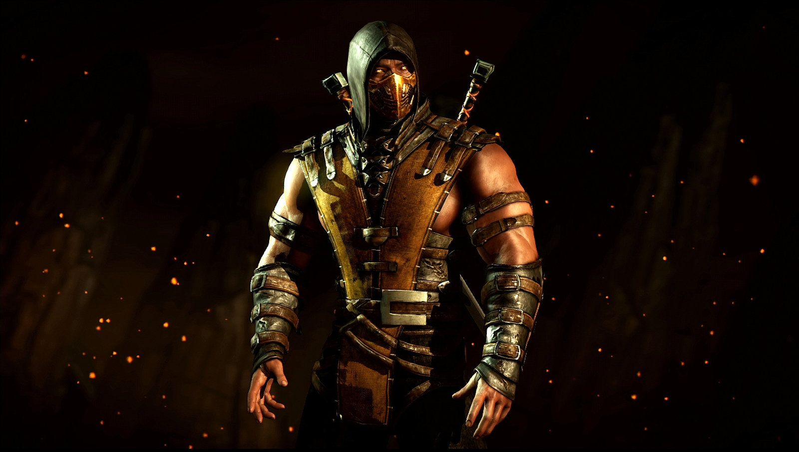 Mortal kombat x scorpion wallpapers top free mortal - Mortal kombat scorpion wallpaper ...