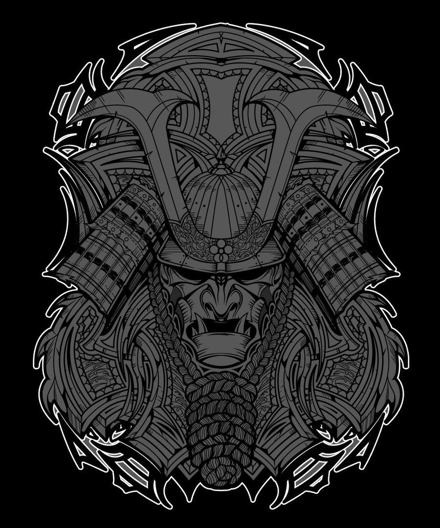 Top Free Oni Irezumi Backgrounds: Samurai Demon Mask Wallpapers