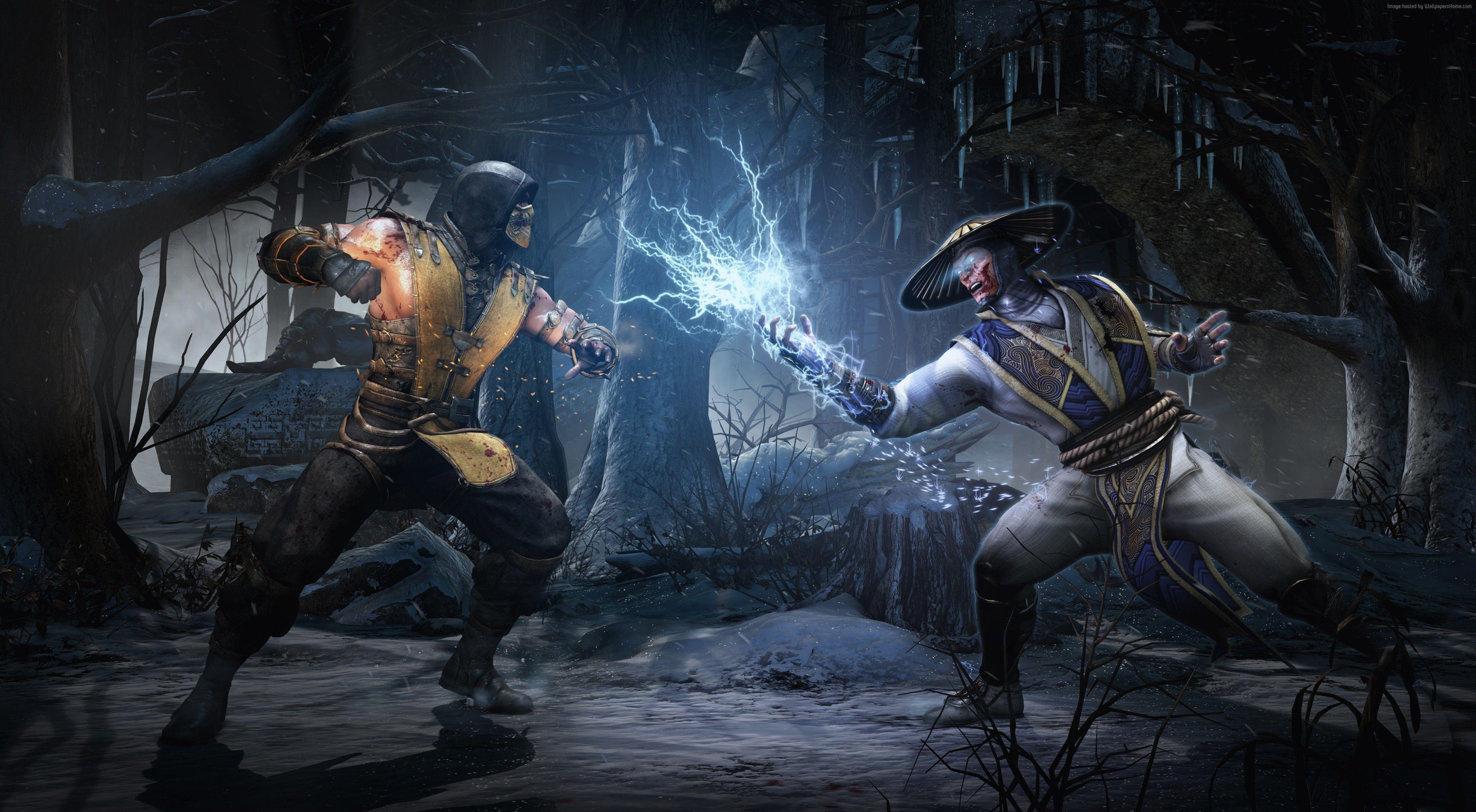 Download Mortal Kombat Wallpaper Raiden Pics