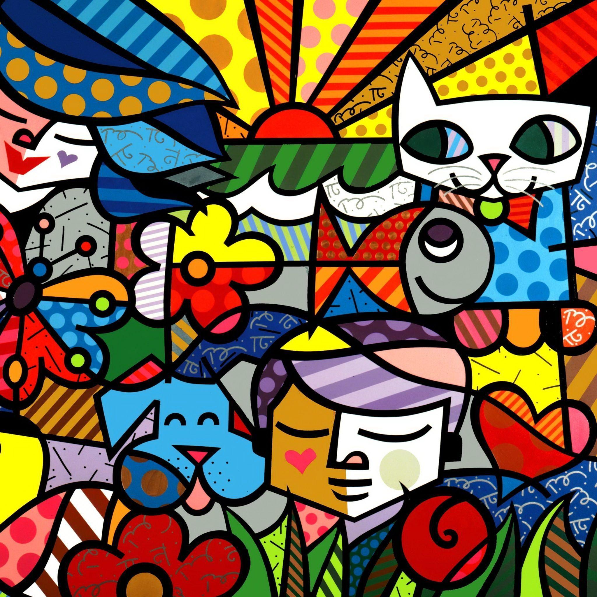 Abstract Pop Art Wallpapers - Top Free Abstract Pop Art ...
