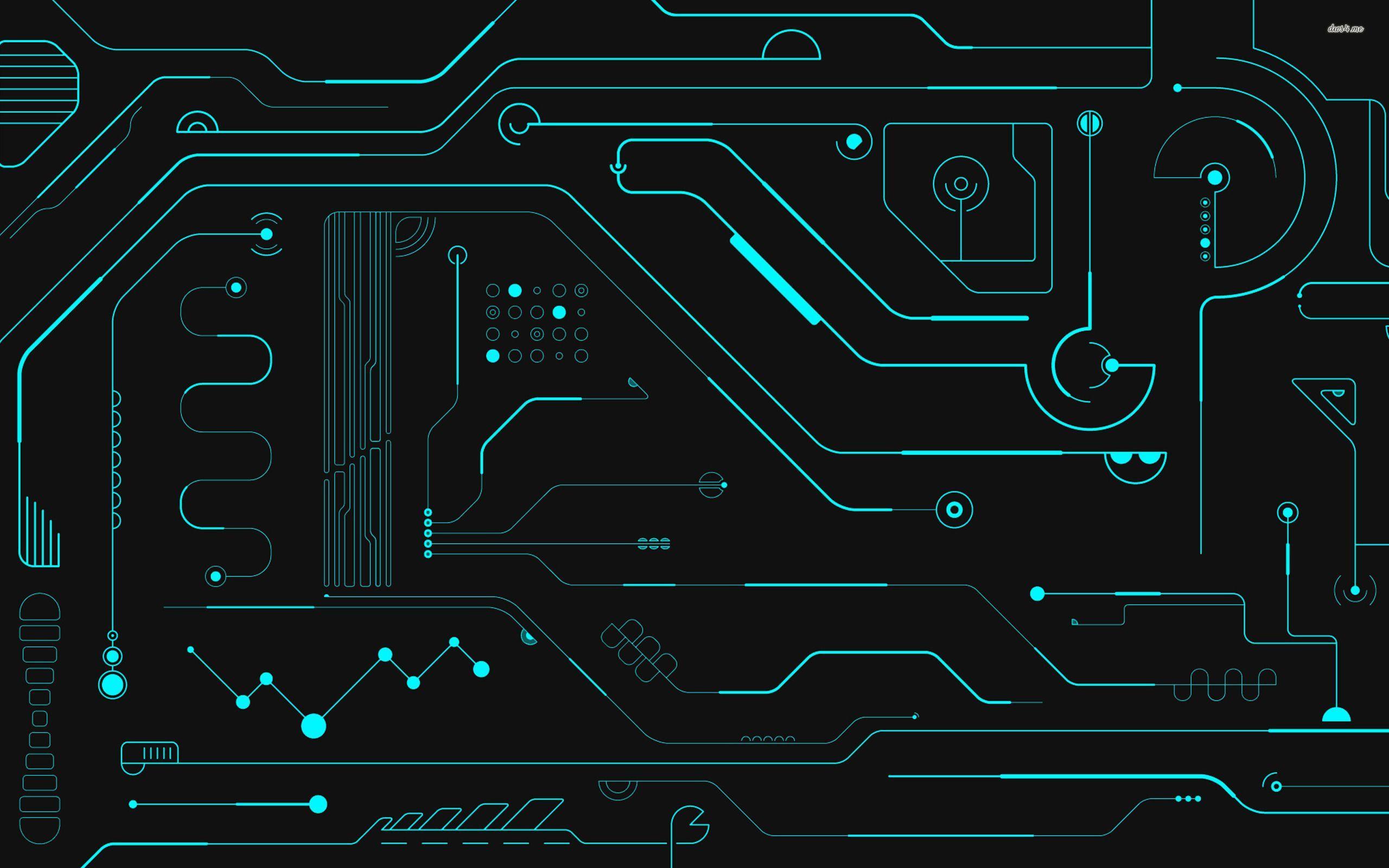 53 best free digital circuit wallpapers wallpaperaccess