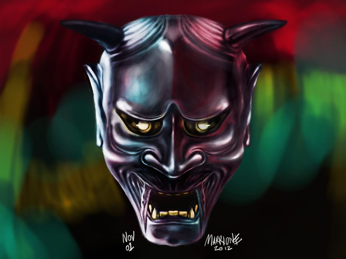 0x0 Hannya Mask Live Wallpaper 1.00 APK Download - Android .