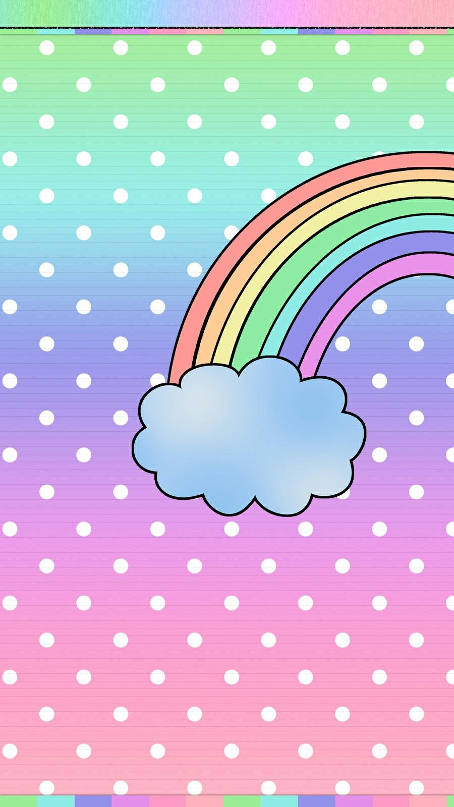 32 Best Free Cute Rainbow iPhone Wallpapers - WallpaperAccess Cute Rainbow Wallpapers