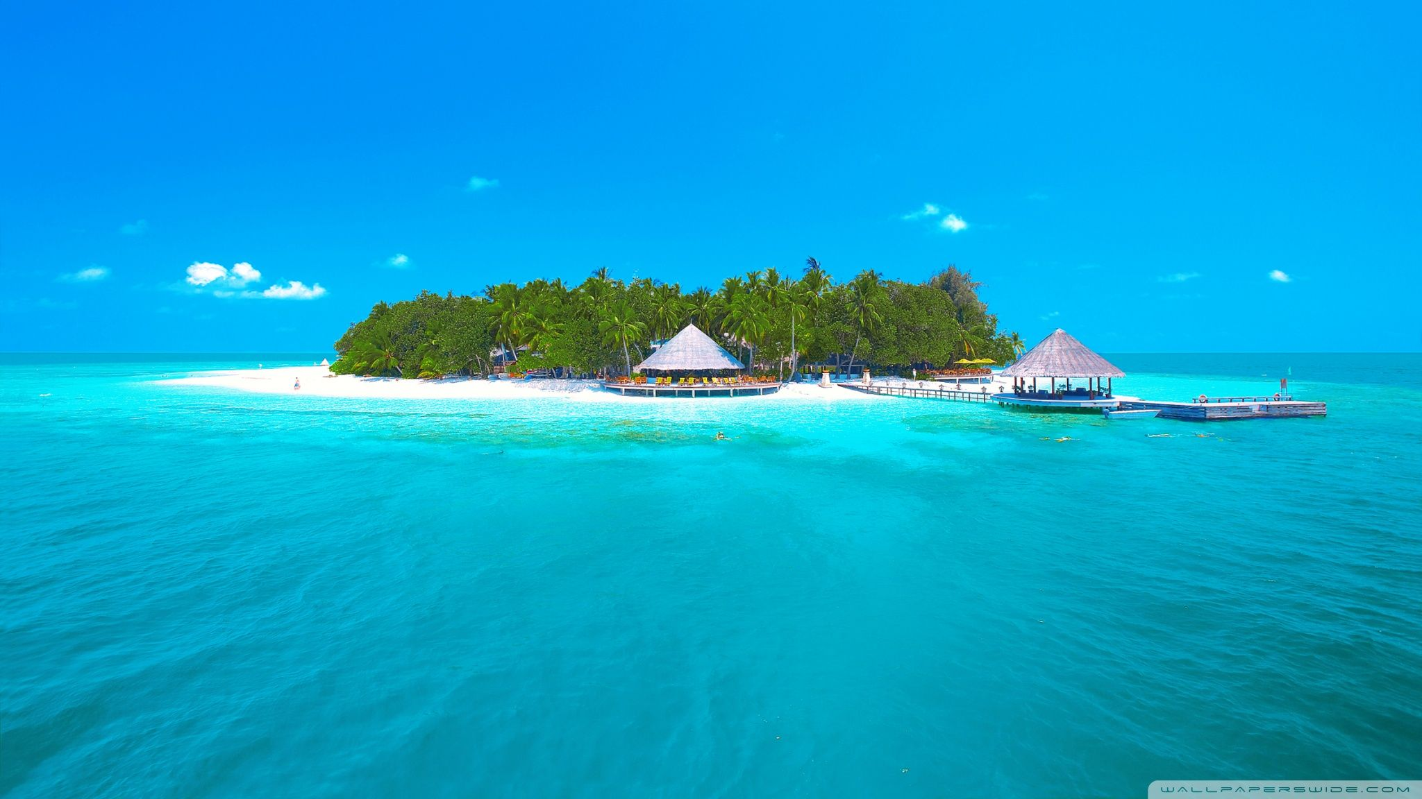 Tropical Paradise Beach 4k Hd Desktop Wallpaper For 4k: Paradise Desktop Wallpapers