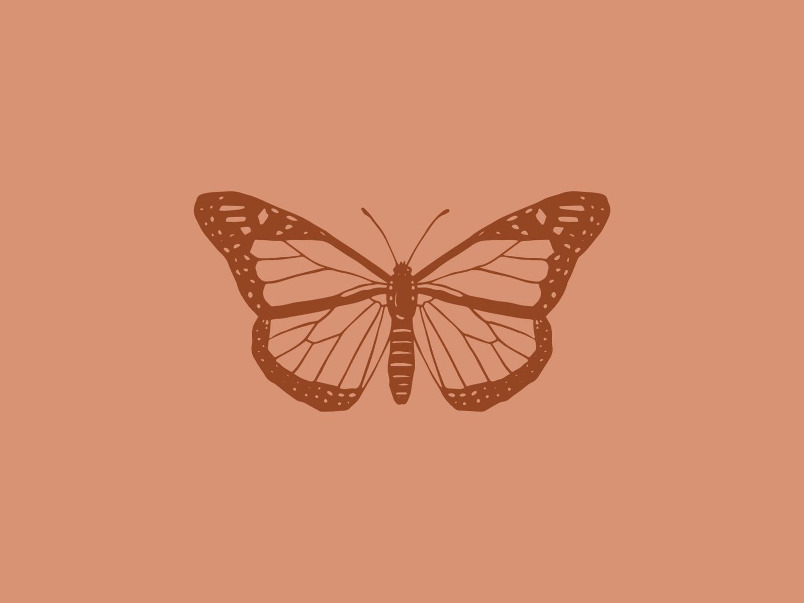 Biểu tượng con bướm 1600x1200.  Hình minh họa bướm, Đồ họa bướm, Hình nền máy tính thẩm mỹ