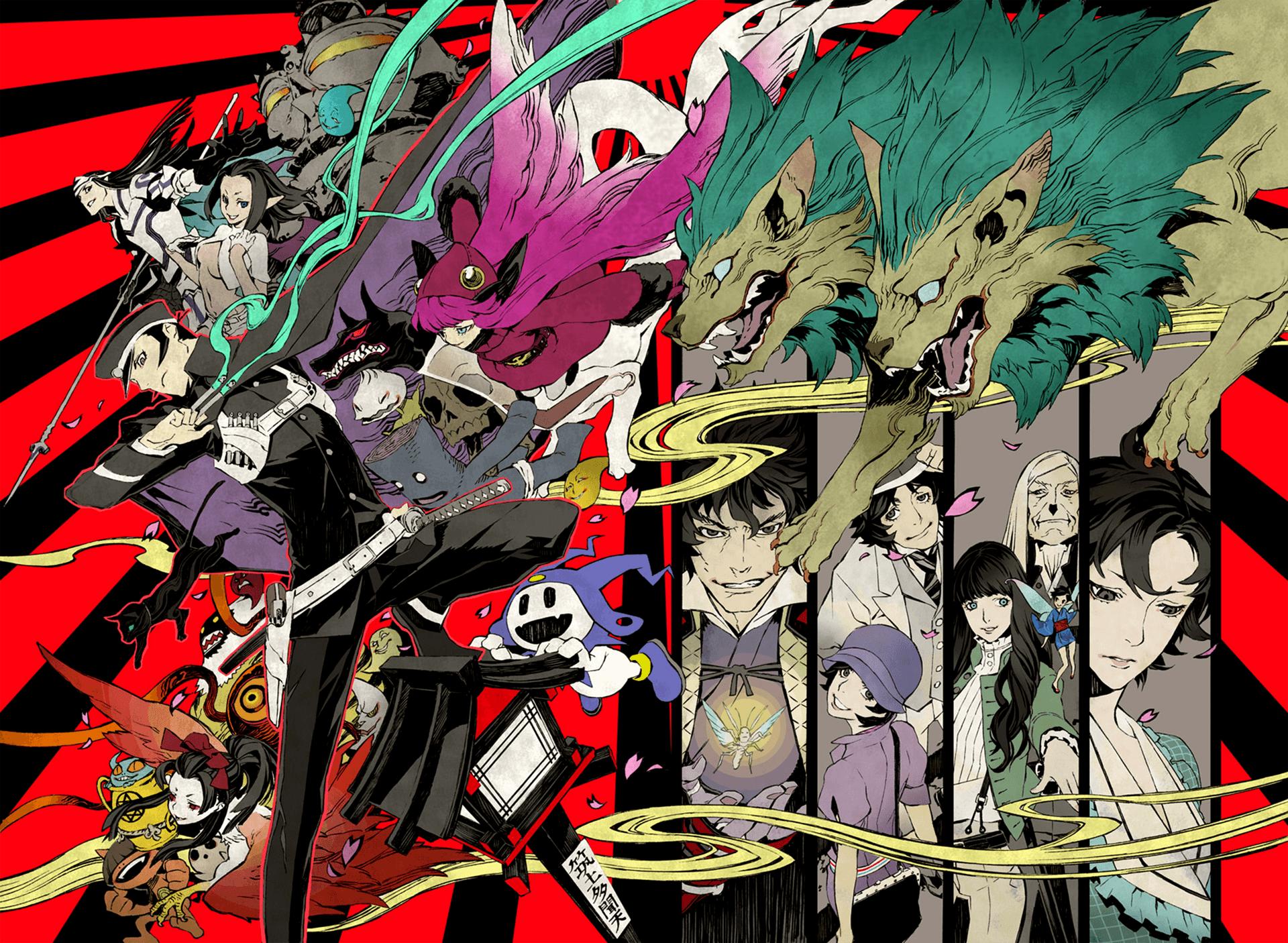 Shin Megami Tensei Wallpapers Top Free Shin Megami Tensei