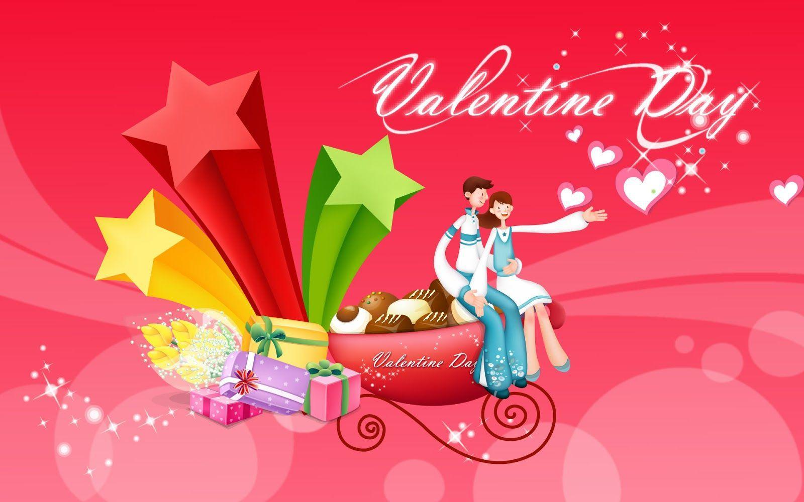 1600x1000 Cute Happy Valentines Day Love Wallpaper - Happy Valentine's Day
