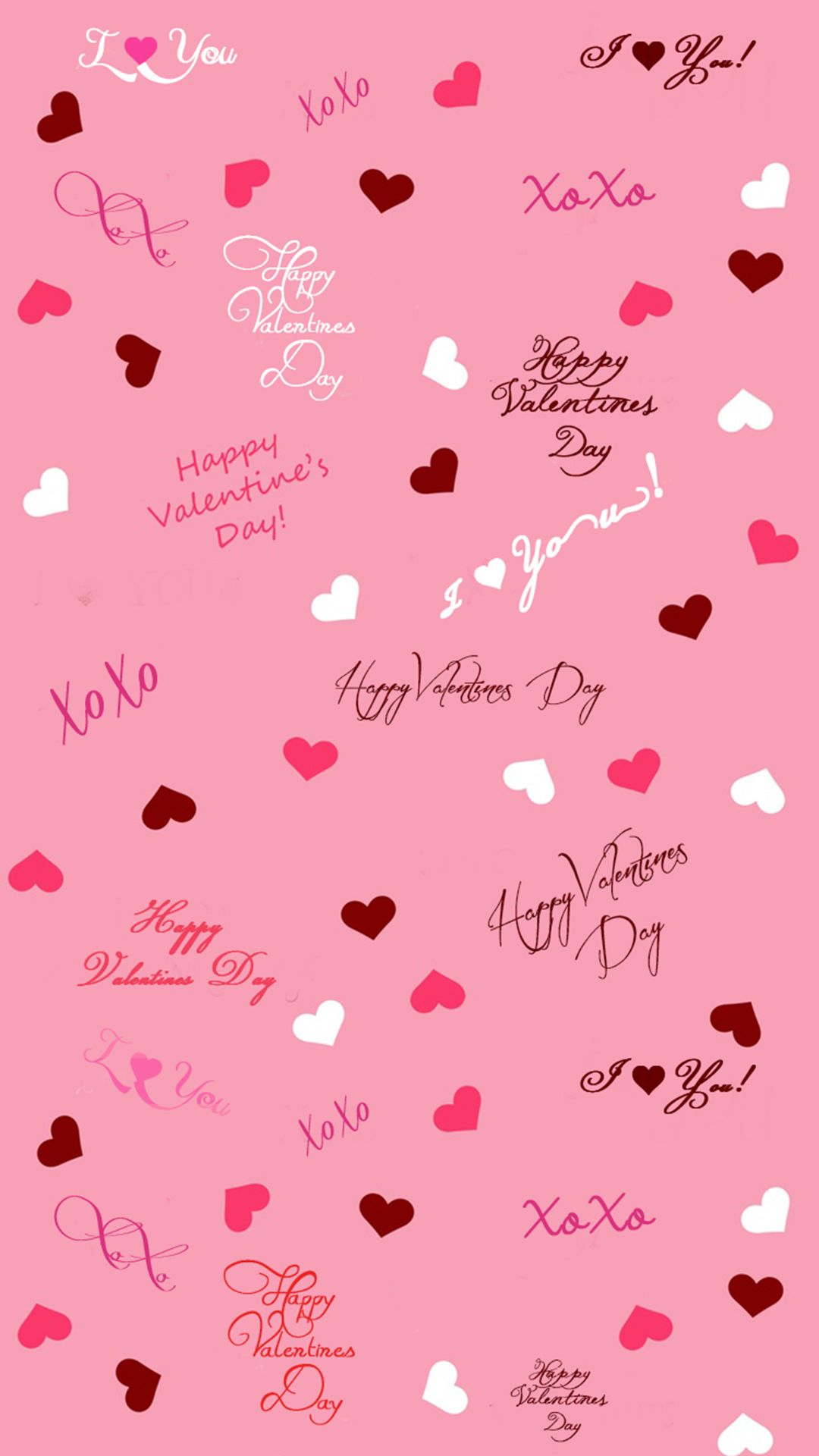 1080x1920 Cute Valentine iPhone Wallpaper Free To Download