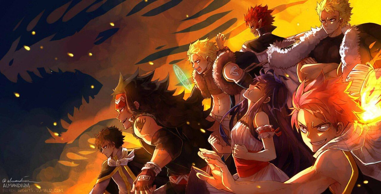 Fairy Tail Dragon Slayers Wallpapers Top Free Fairy Tail Dragon