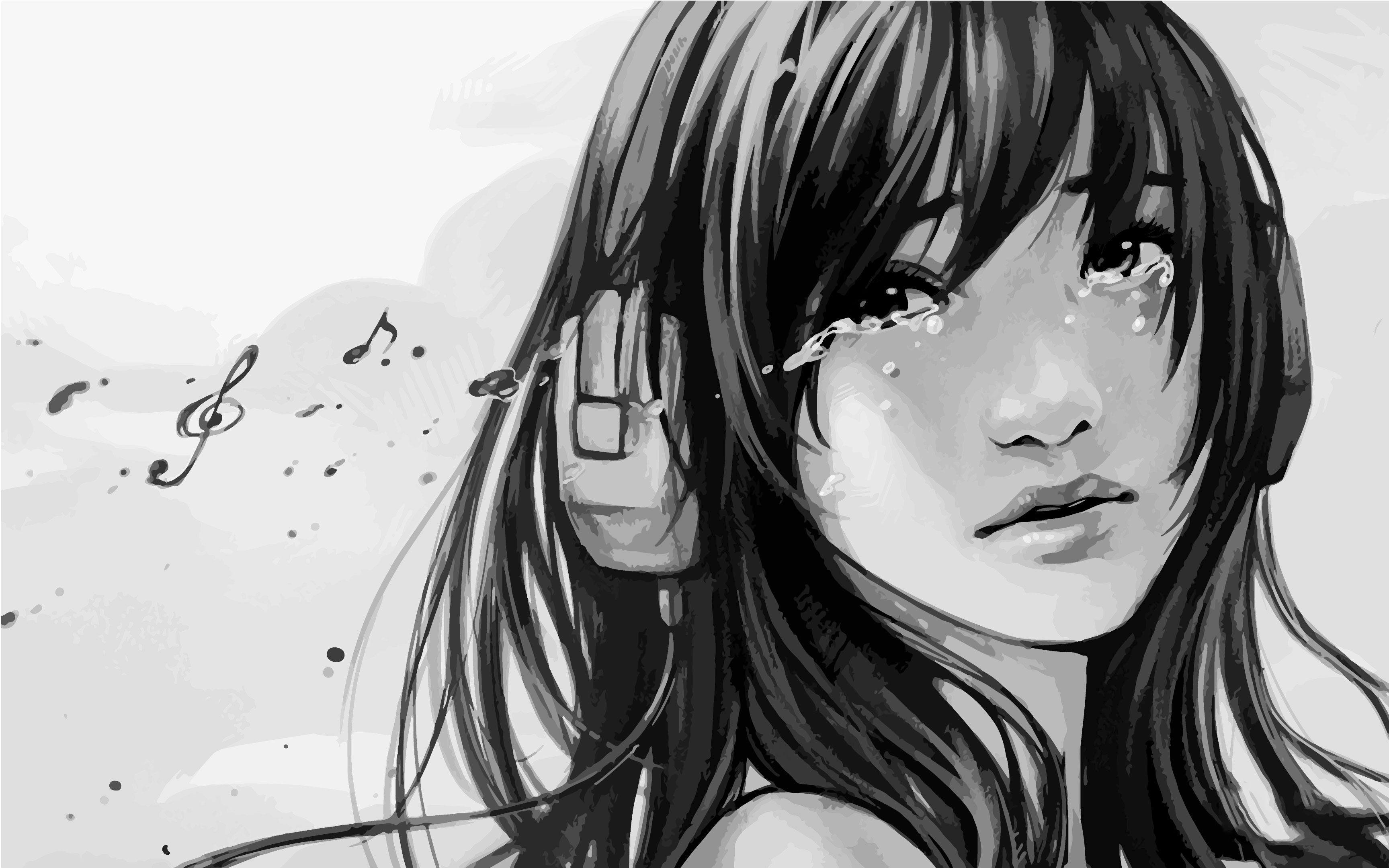 Crying Anime Girl Wallpapers - Top Free Crying Anime Girl