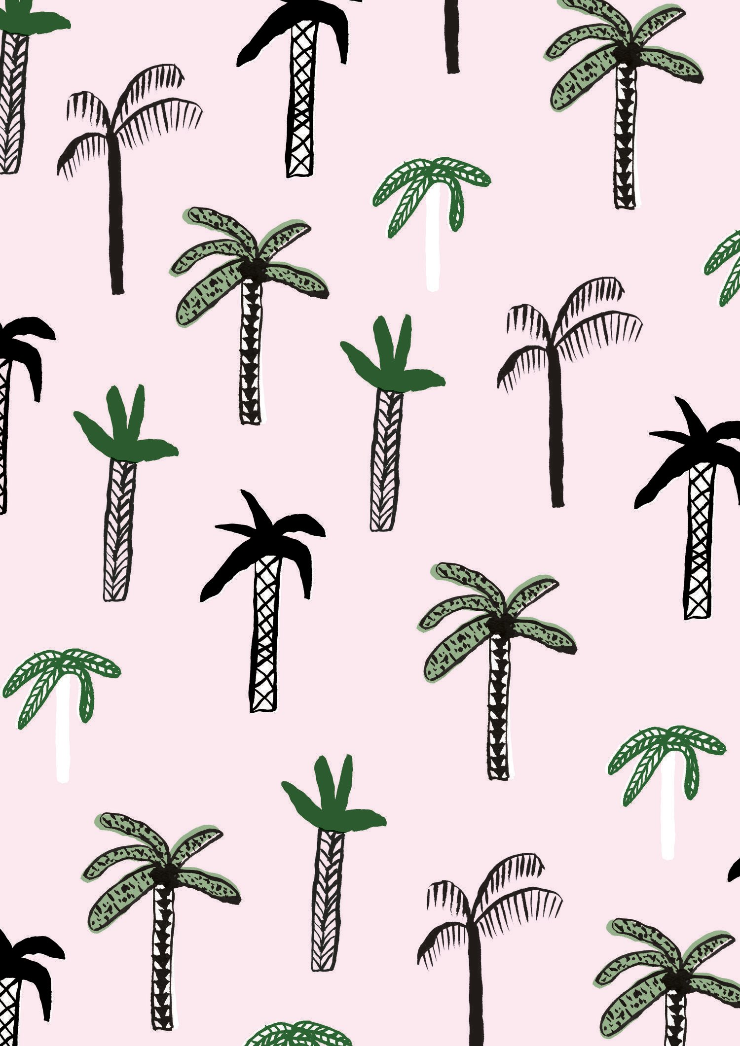 Cartoon Palm Tree Wallpapers Top Free Cartoon Palm Tree Backgrounds Wallpaperaccess