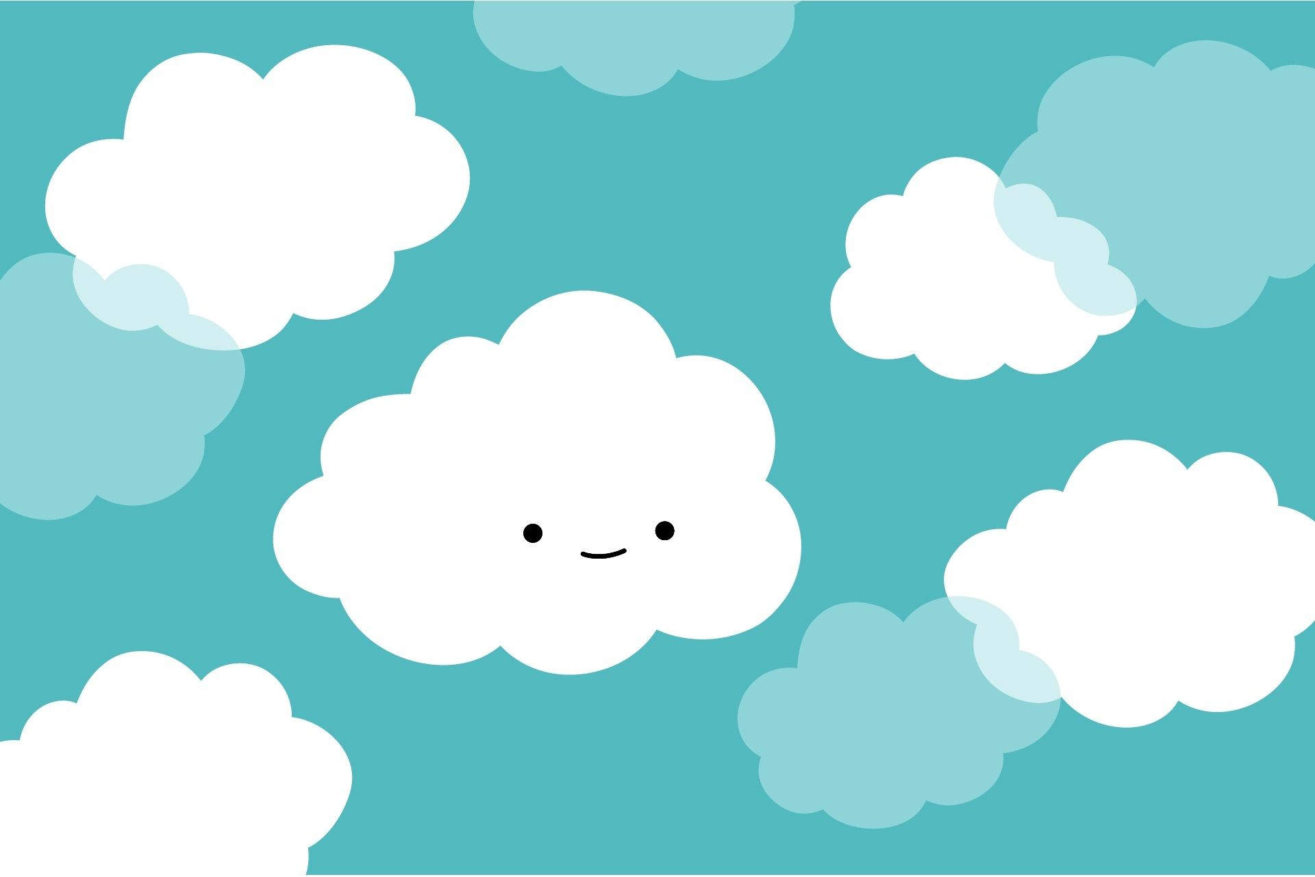 Top Free Cute Cloud Backgrounds
