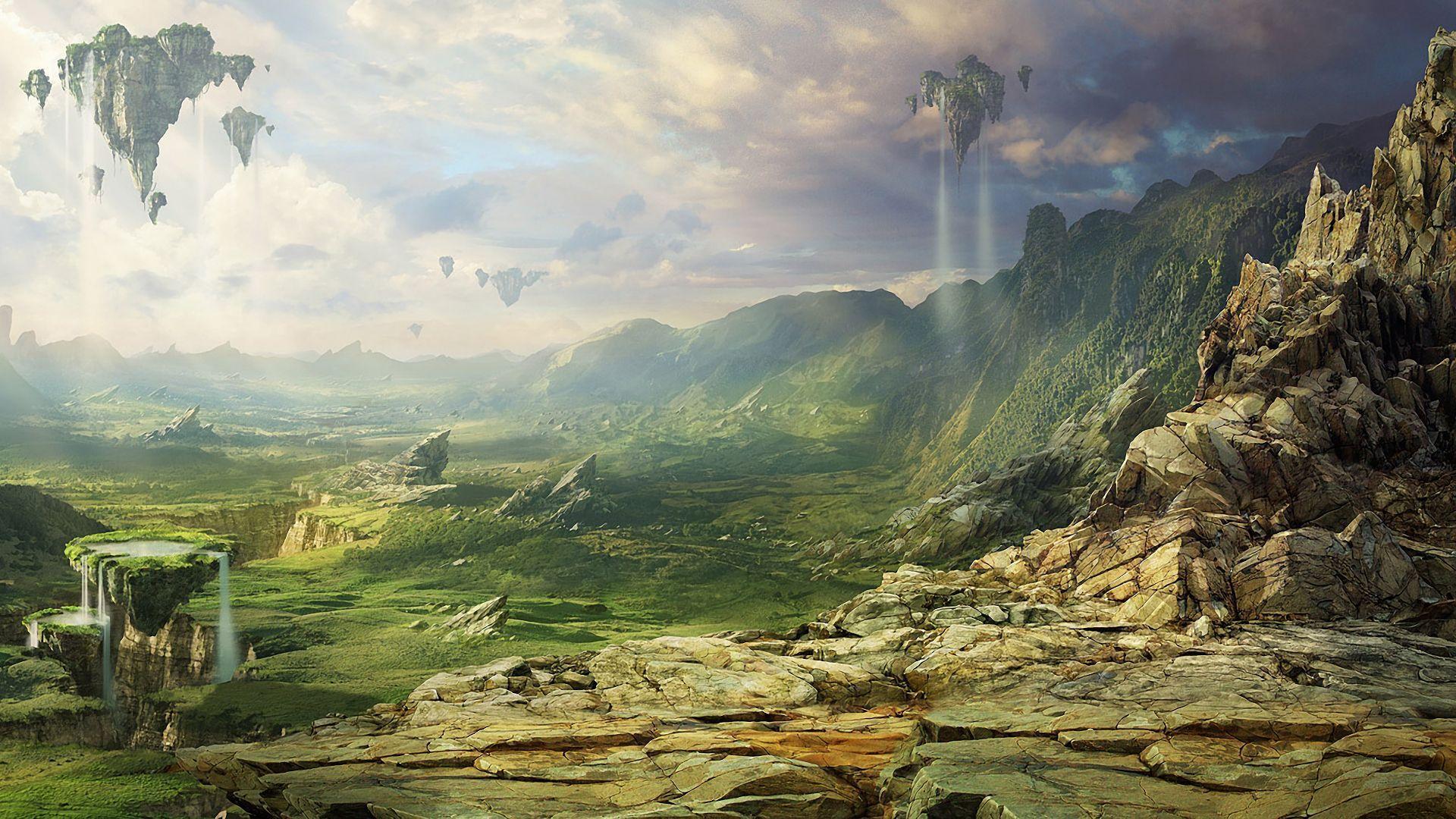 1920x1200 Sci Fi Landscape Wallpapers 19