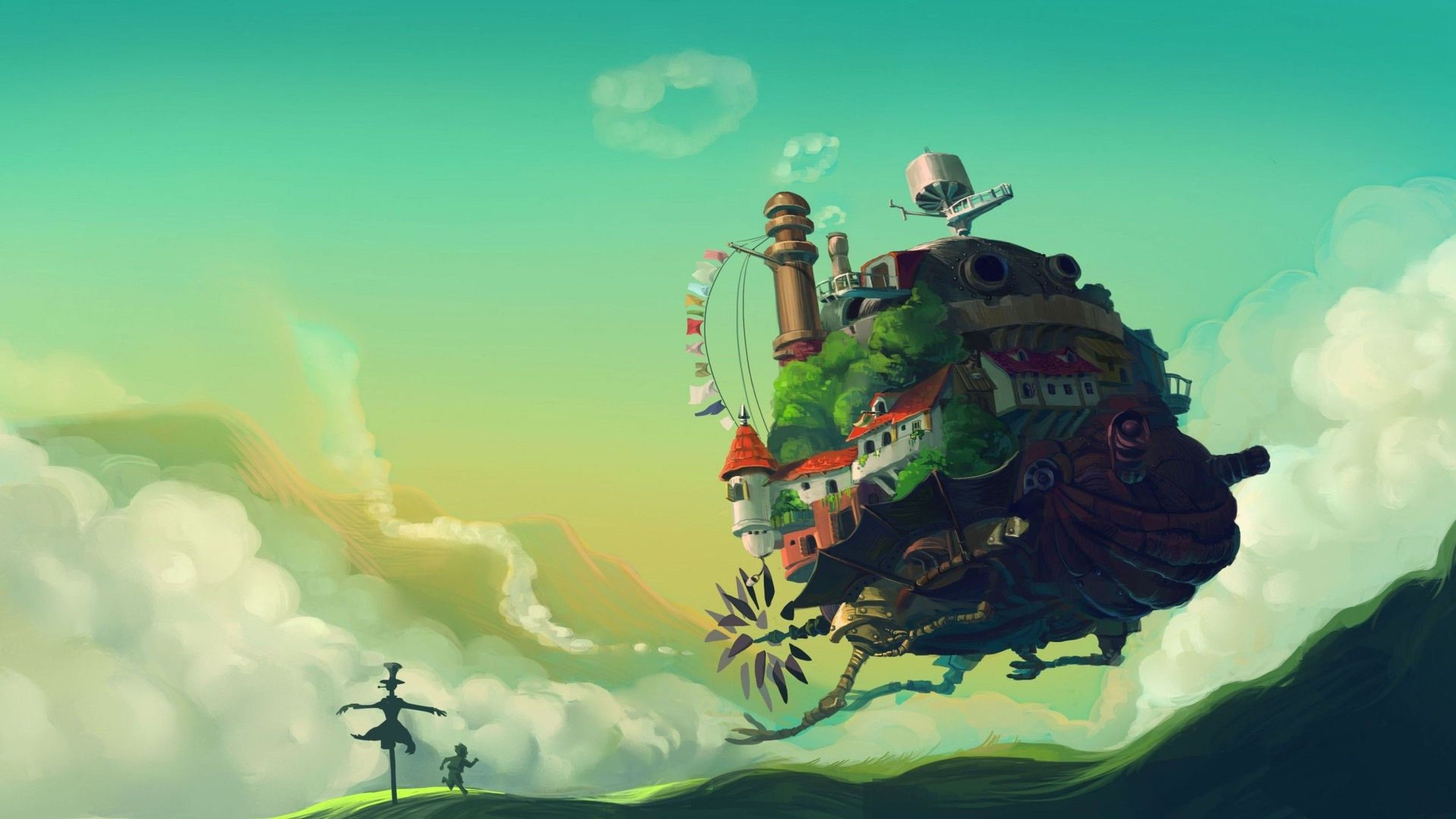 Studio Ghibli Desktop Wallpapers Top Free Studio Ghibli Desktop Backgrounds Wallpaperaccess