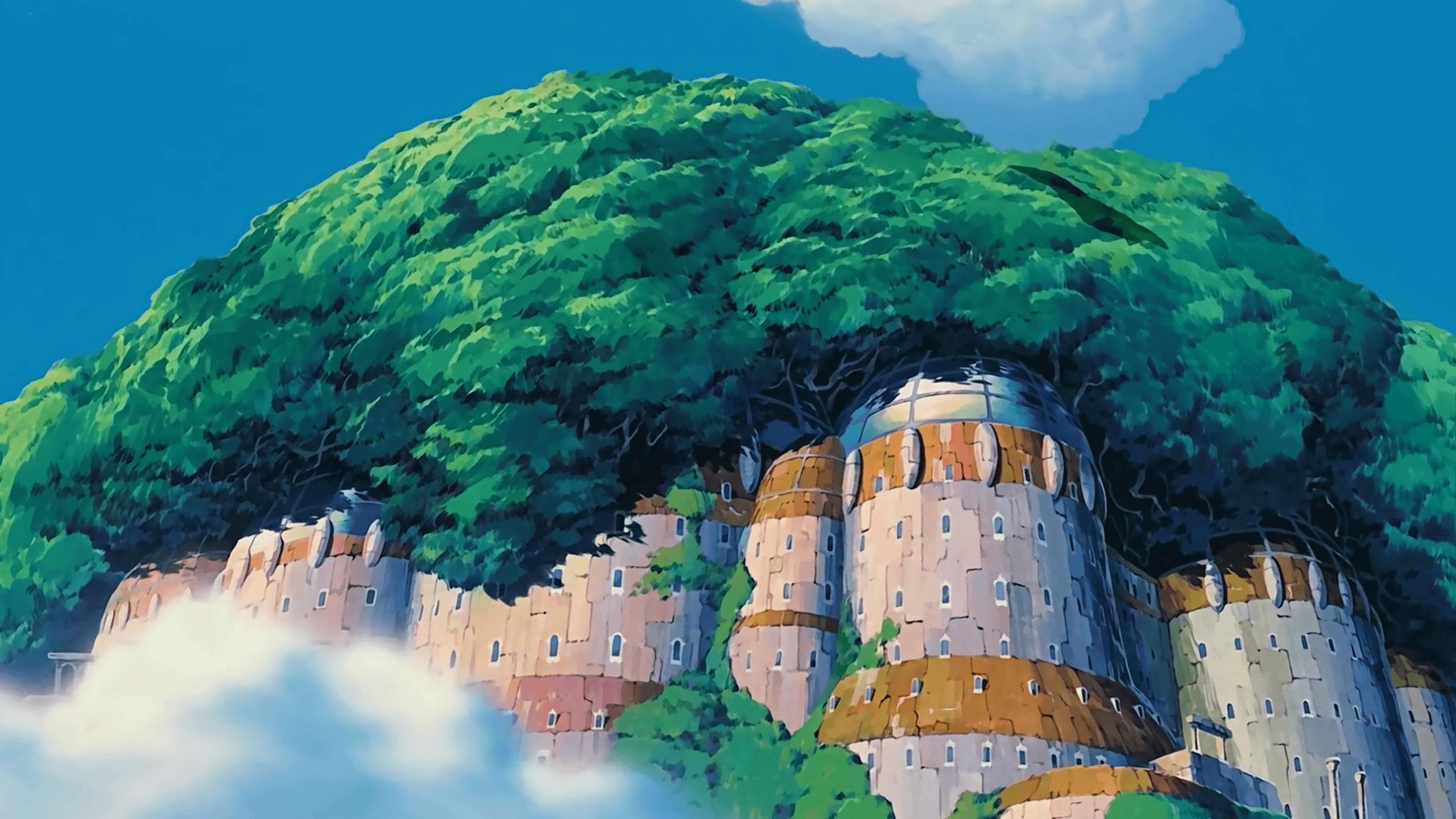 2560x1440 Studio Ghibli hình nền