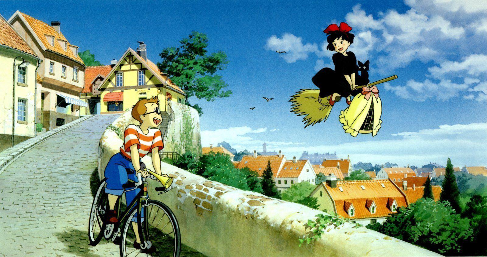 1600x846 Hình nền máy tính để bàn Studio Ghibli 1920 X 1080 375 Kb Jpeg.  phòng thu