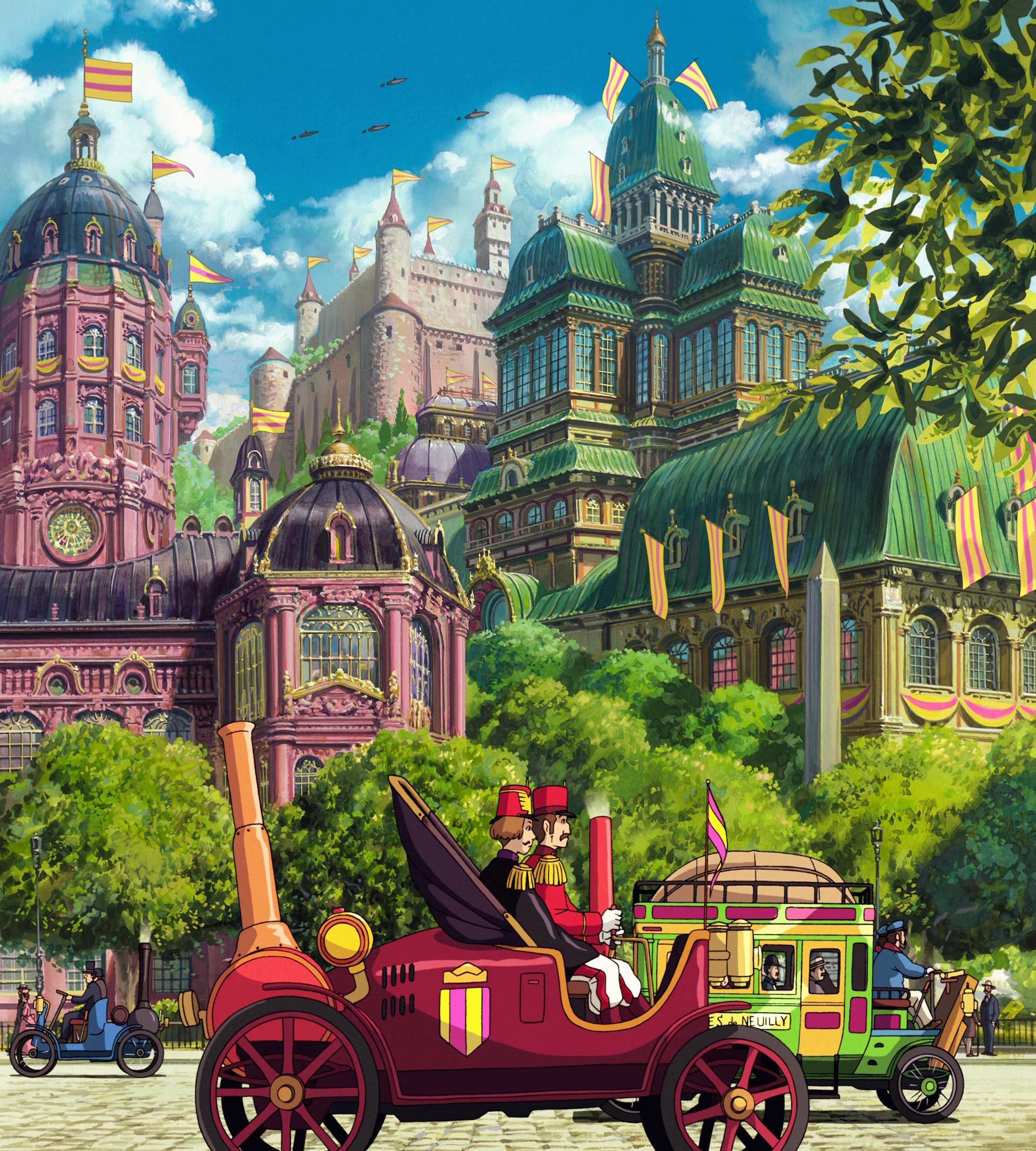 1920x2133 Studio Ghibli hình nền