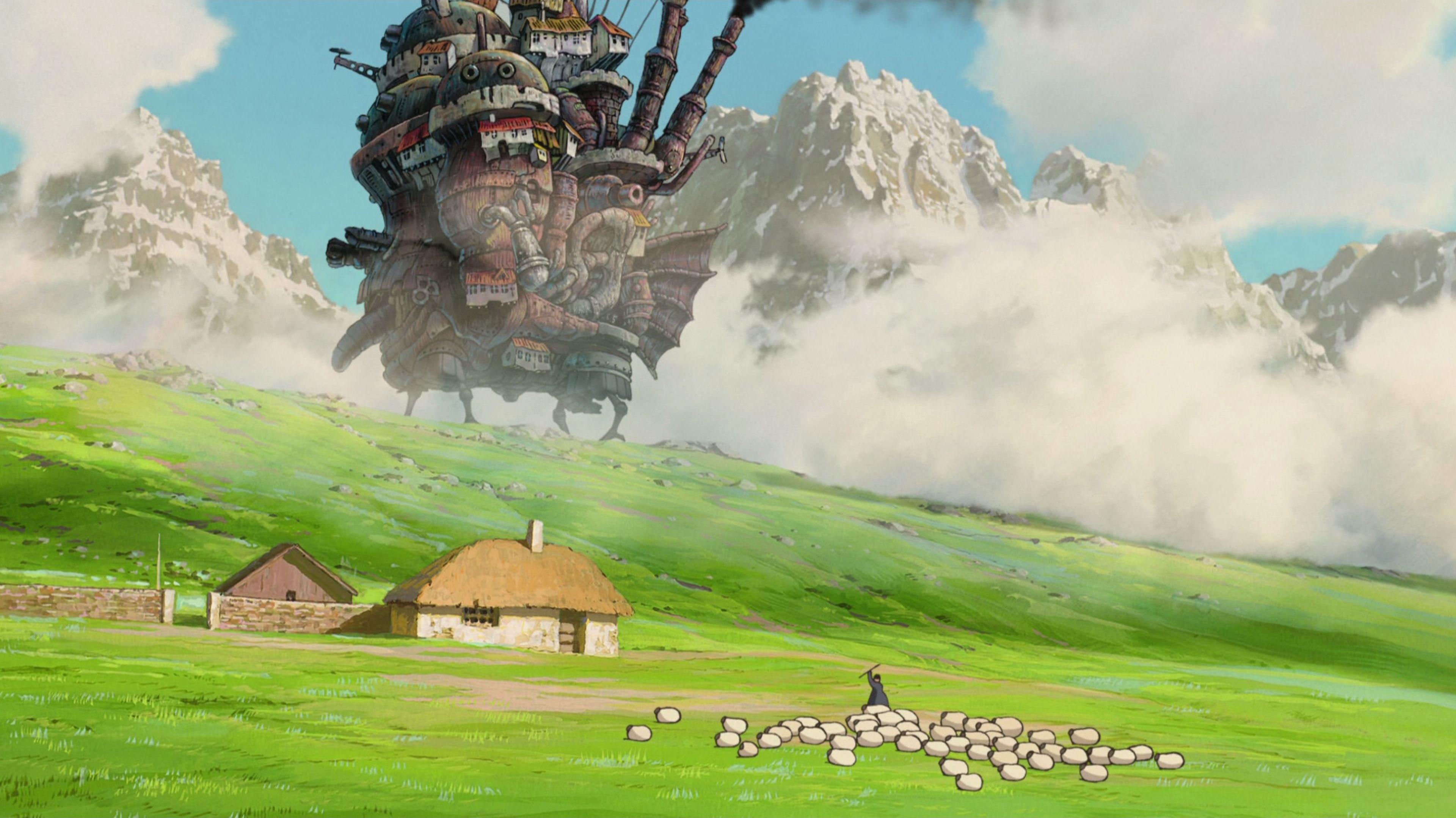 Hình nền Ghibli Studio cho Máy tính để bàn Miễn phí 3840x2160