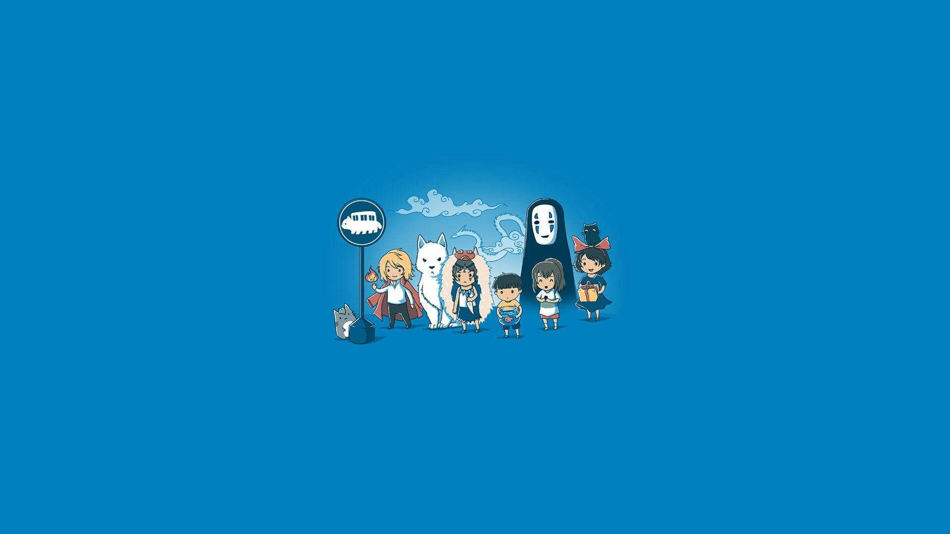 1920x1080 Studio Ghibli hình nềnTải xuống nền HD tuyệt đẹp miễn phí