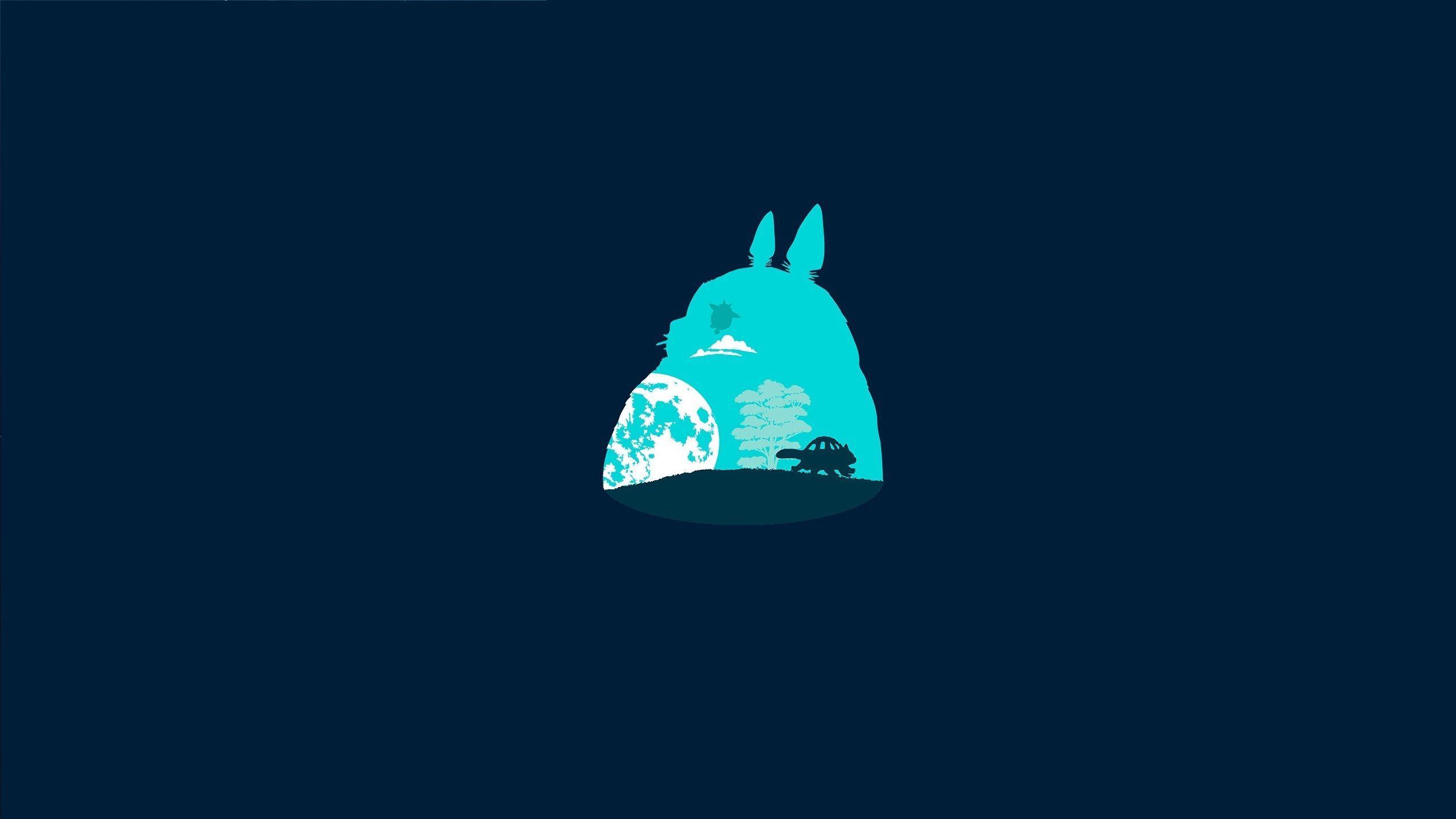 2560x1440 Ghibli hình nền