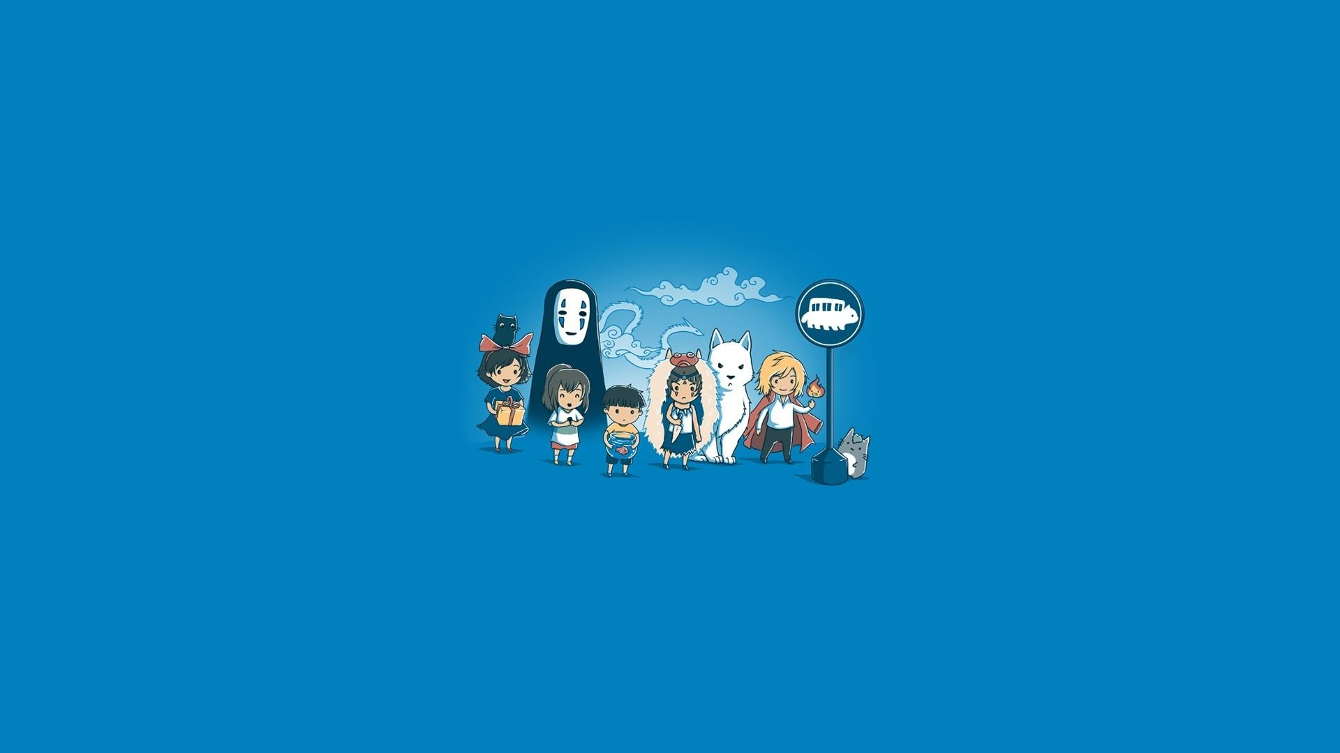 1920x1080 Hayao Miyazaki hình nền