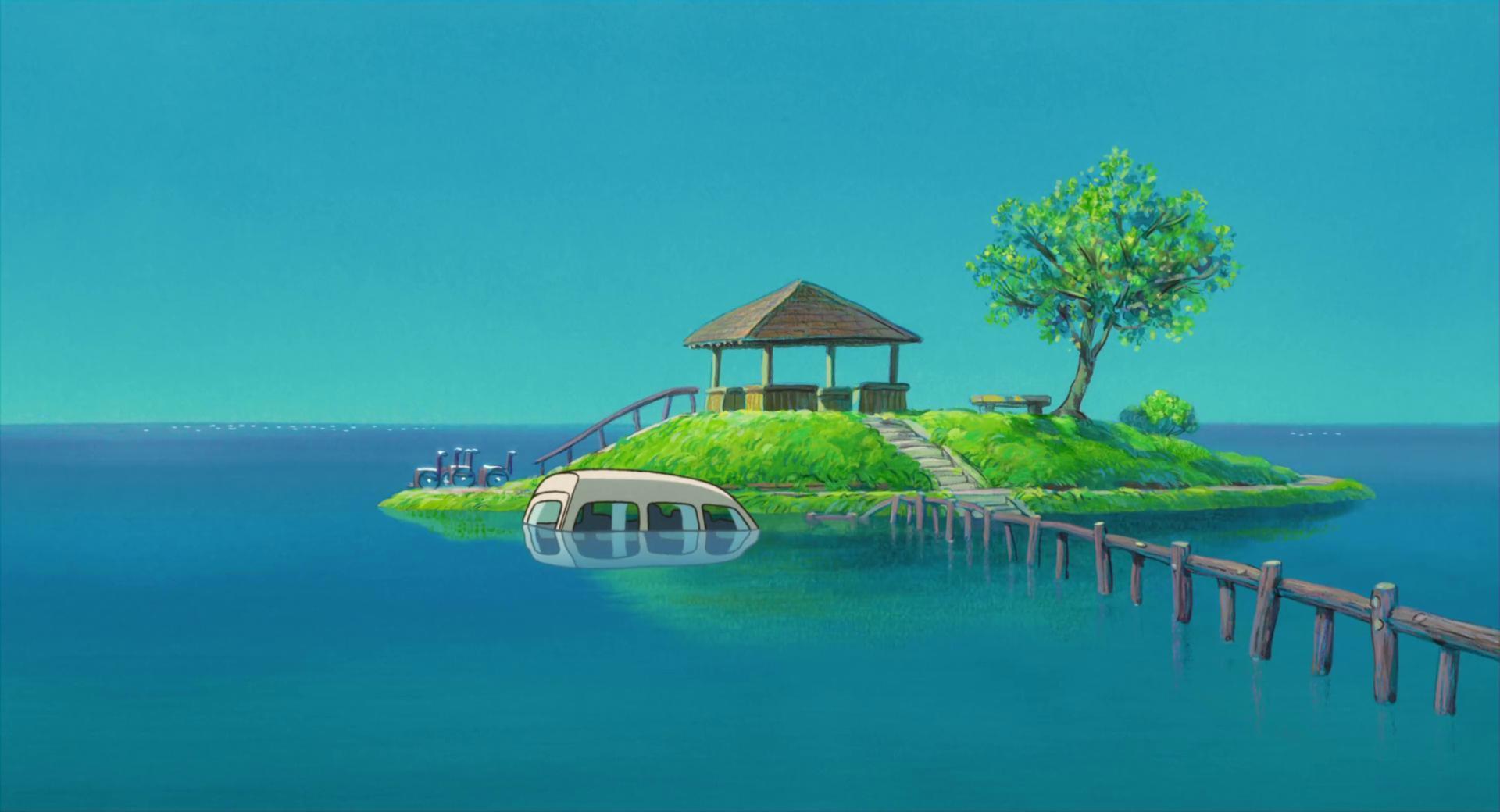 1920x1040 Miyazaki.  Miyazaki, Studio ghibli và Game art