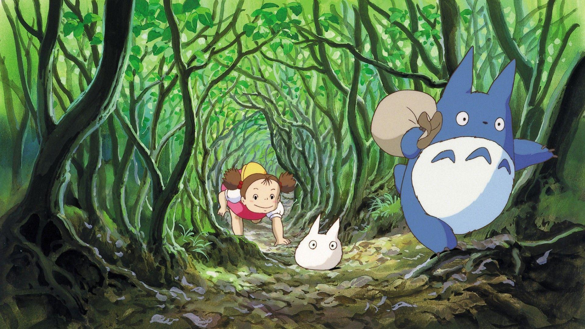 Màn hình 1920x1080Heaven: Hayao Miyazaki My Neighbor Totoro Studio Ghibli