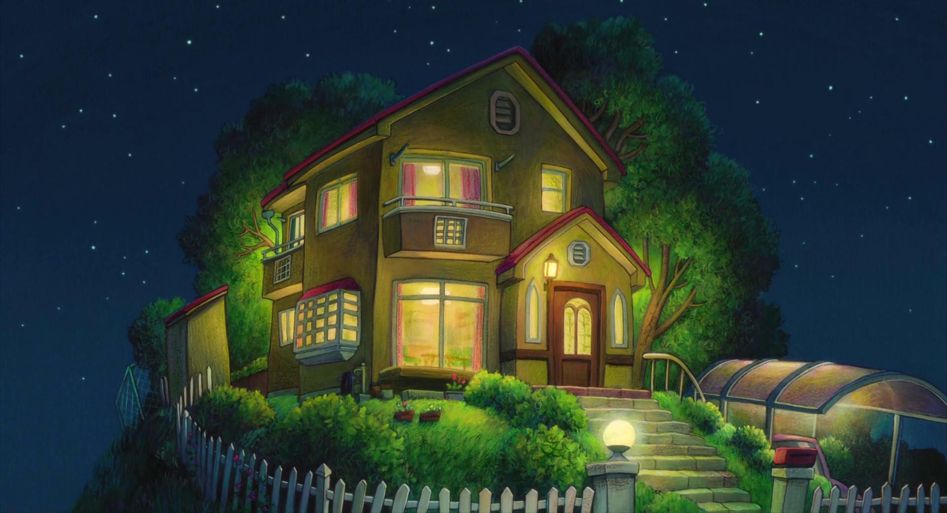 1920x1040 HD Desktop Studio Ghibli Background