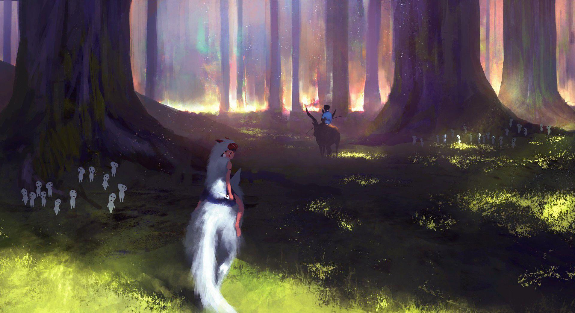 1920x1046 Wallpaper.wiki Free Desktop HD Studio Ghibli Photos Tải xuống PIC
