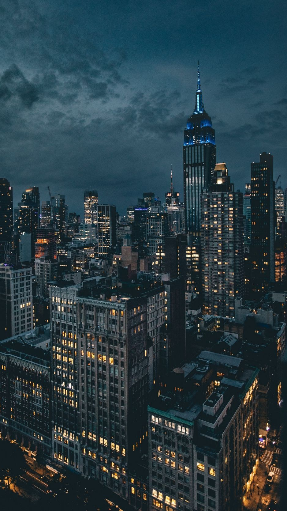 New York City Night Iphone Wallpapers Top Free New York City Night Iphone Backgrounds Wallpaperaccess