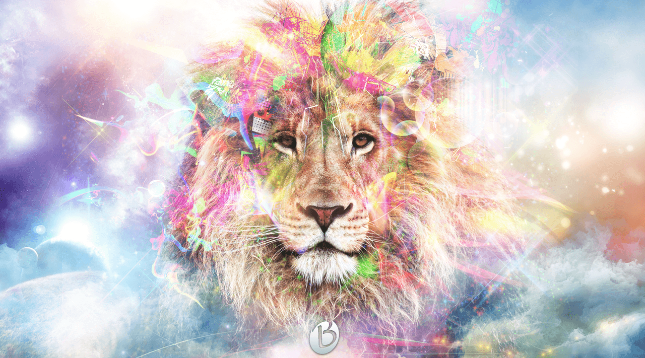 Geometric Lion Wallpapers Download at