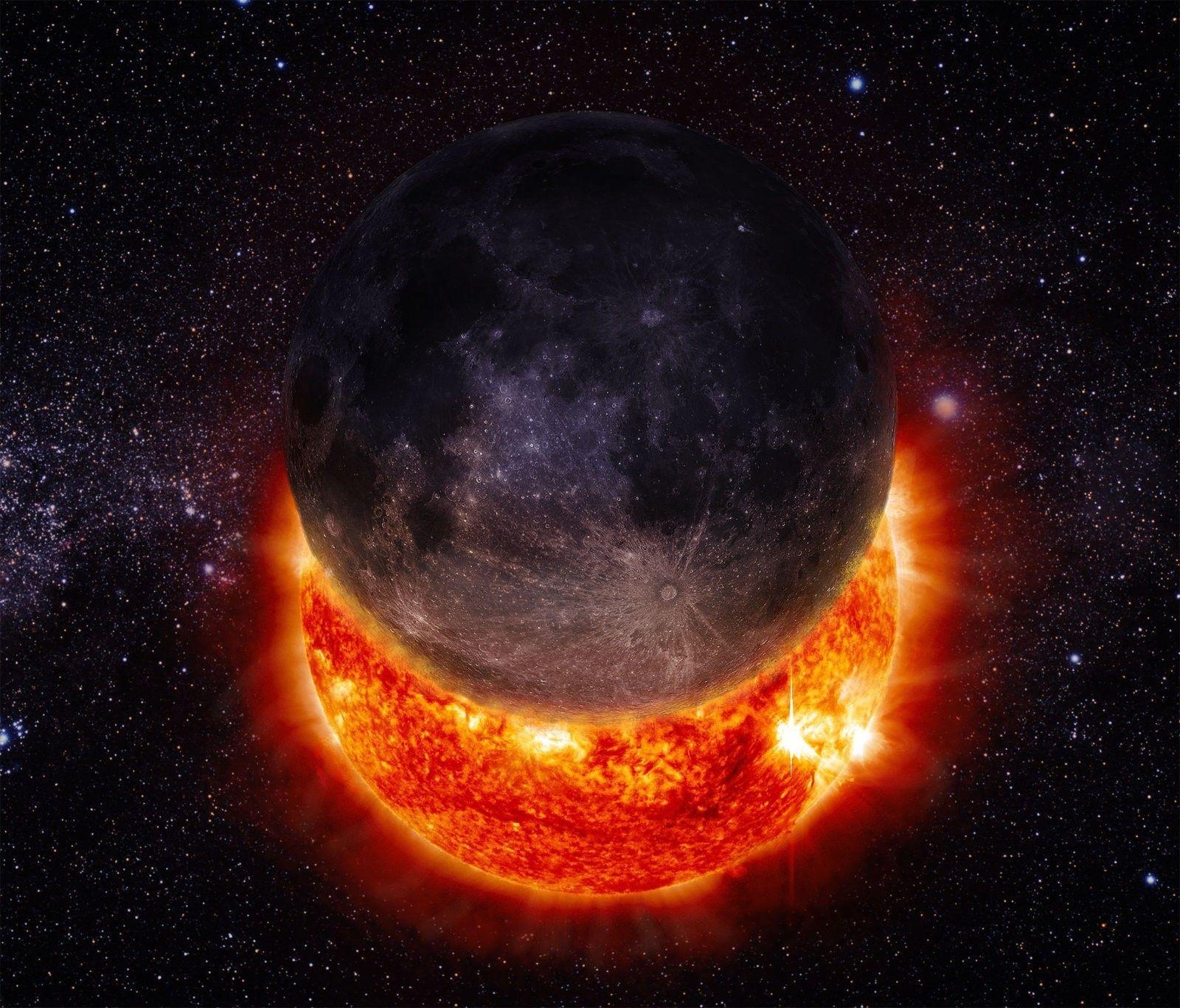 Galaxy Solar Eclipse Wallpapers Top Free Galaxy Solar Eclipse