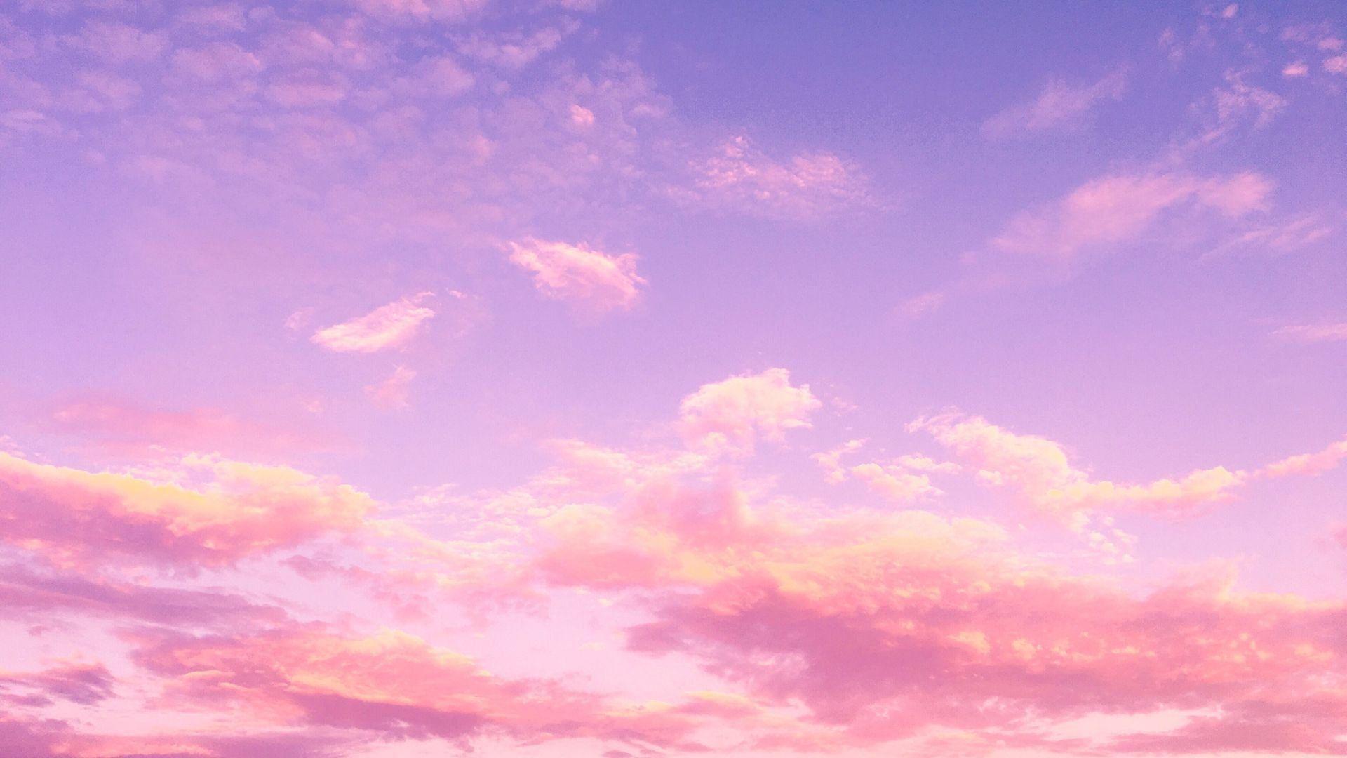 Pink Sky Desktop Wallpapers Top Free Pink Sky Desktop Backgrounds Wallpaperaccess