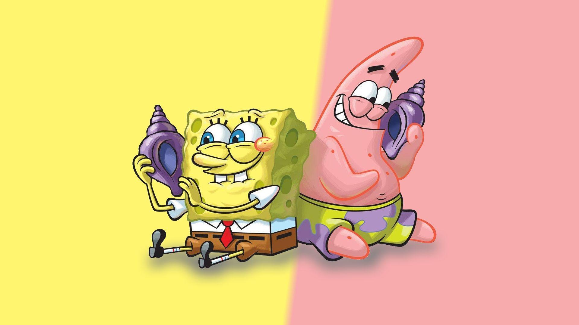 1920x1080 Spongebob và Patrick Hình nền máy tính 58838 1920x1080 px