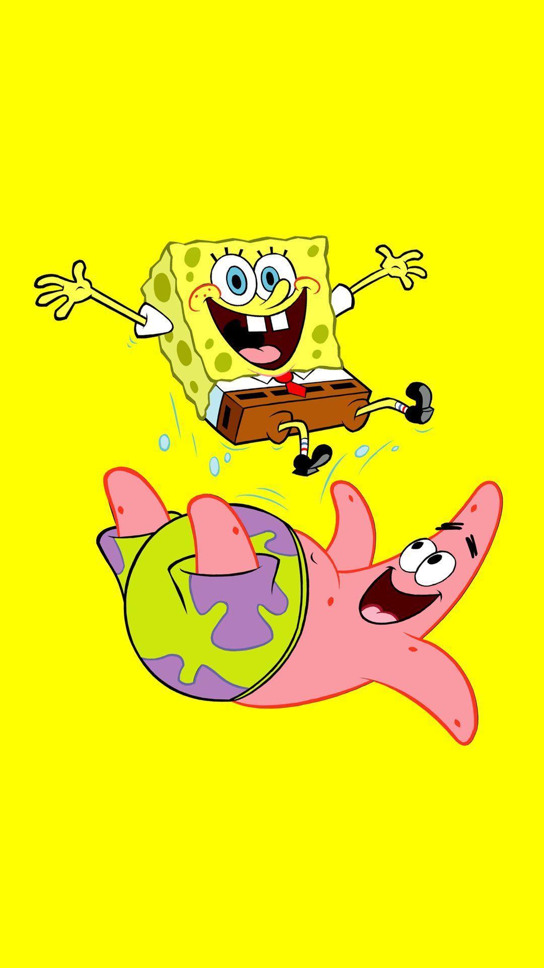 1080x1920 Bọt Biển Hài Hước Và Patrick.  Spongebob.  Hình nền