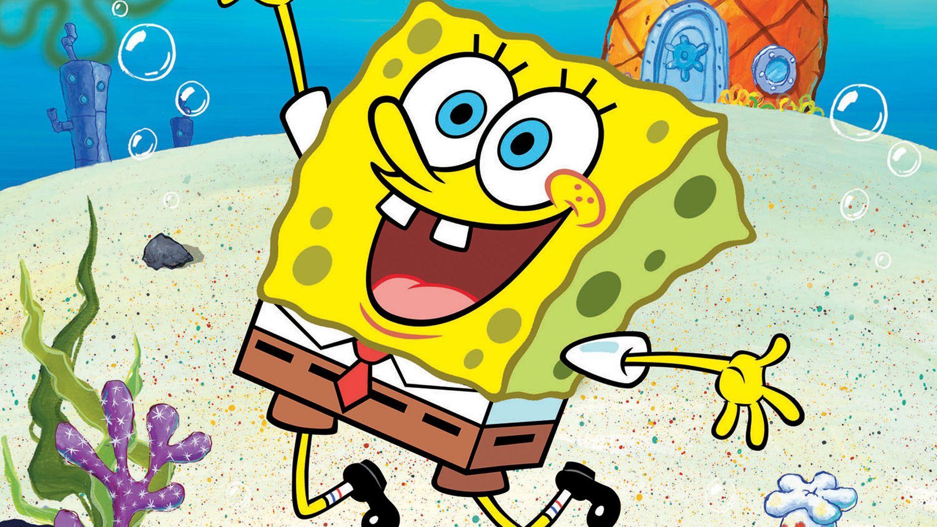 1920x1080 Spongebob Squarepants Hình nền HD 58842 1920x1080 px