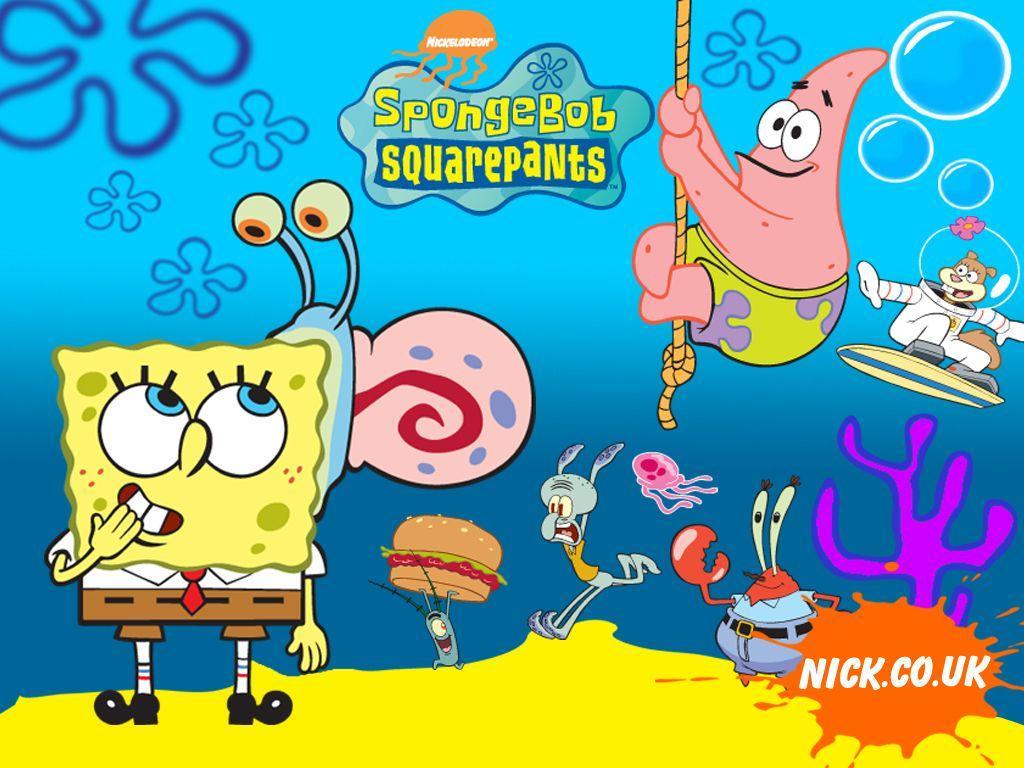 1024x768 Hình ảnh Hình nền của Spongebob