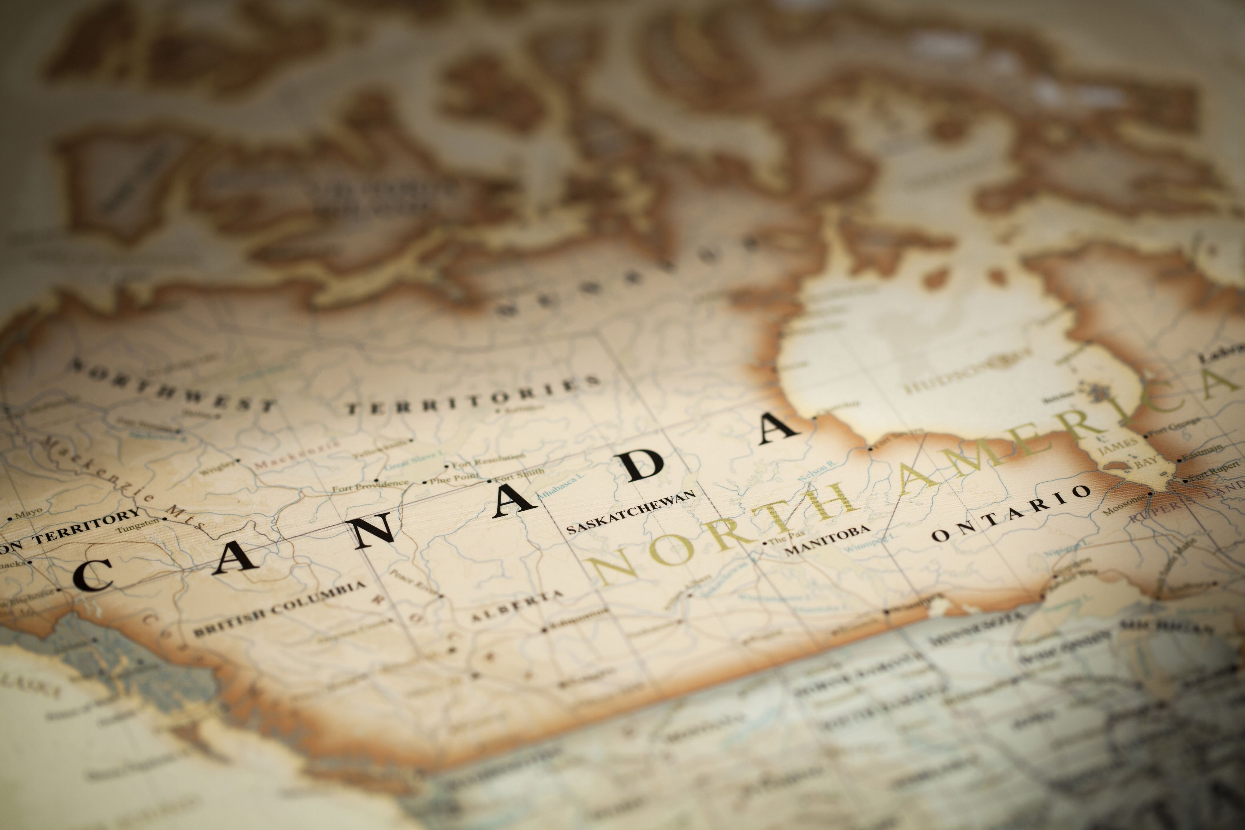 Map Of Canada Wallpaper Canada Map Wallpapers   Top Free Canada Map Backgrounds